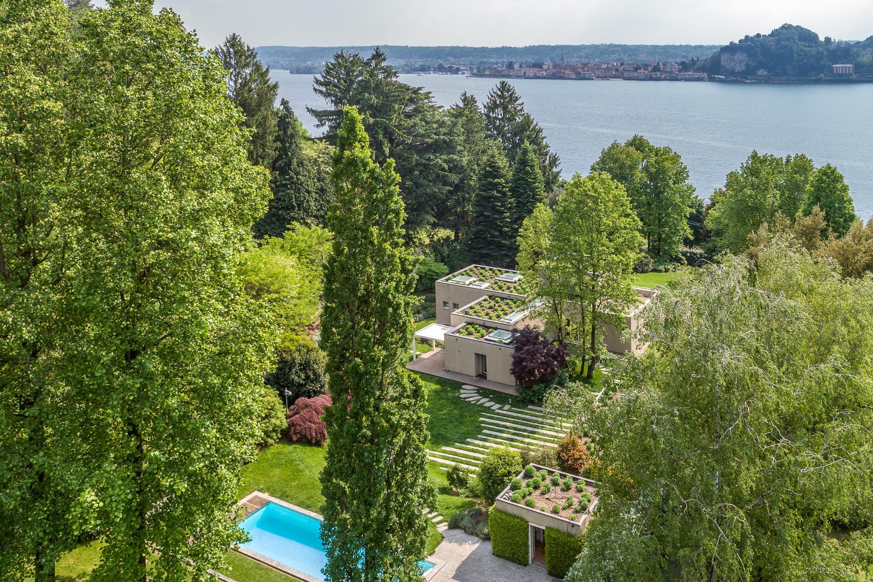 Villa di design eco sostenibile sul Lago Maggiore - 4