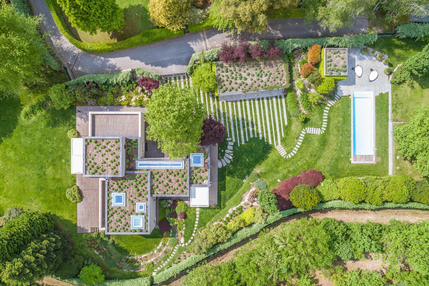 Villa di design eco sostenibile sul Lago Maggiore - 29