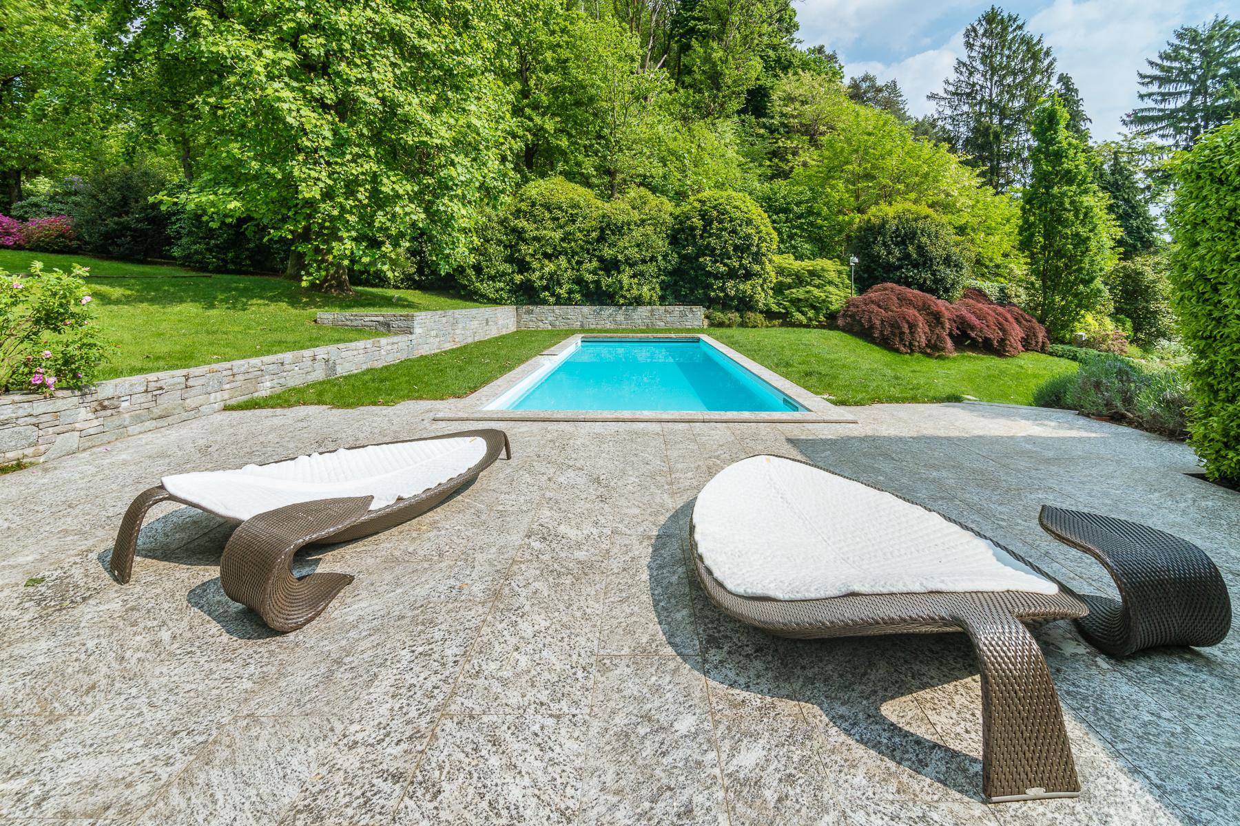 Maggiore湖泊生态友好设计独特的别墅 - 3