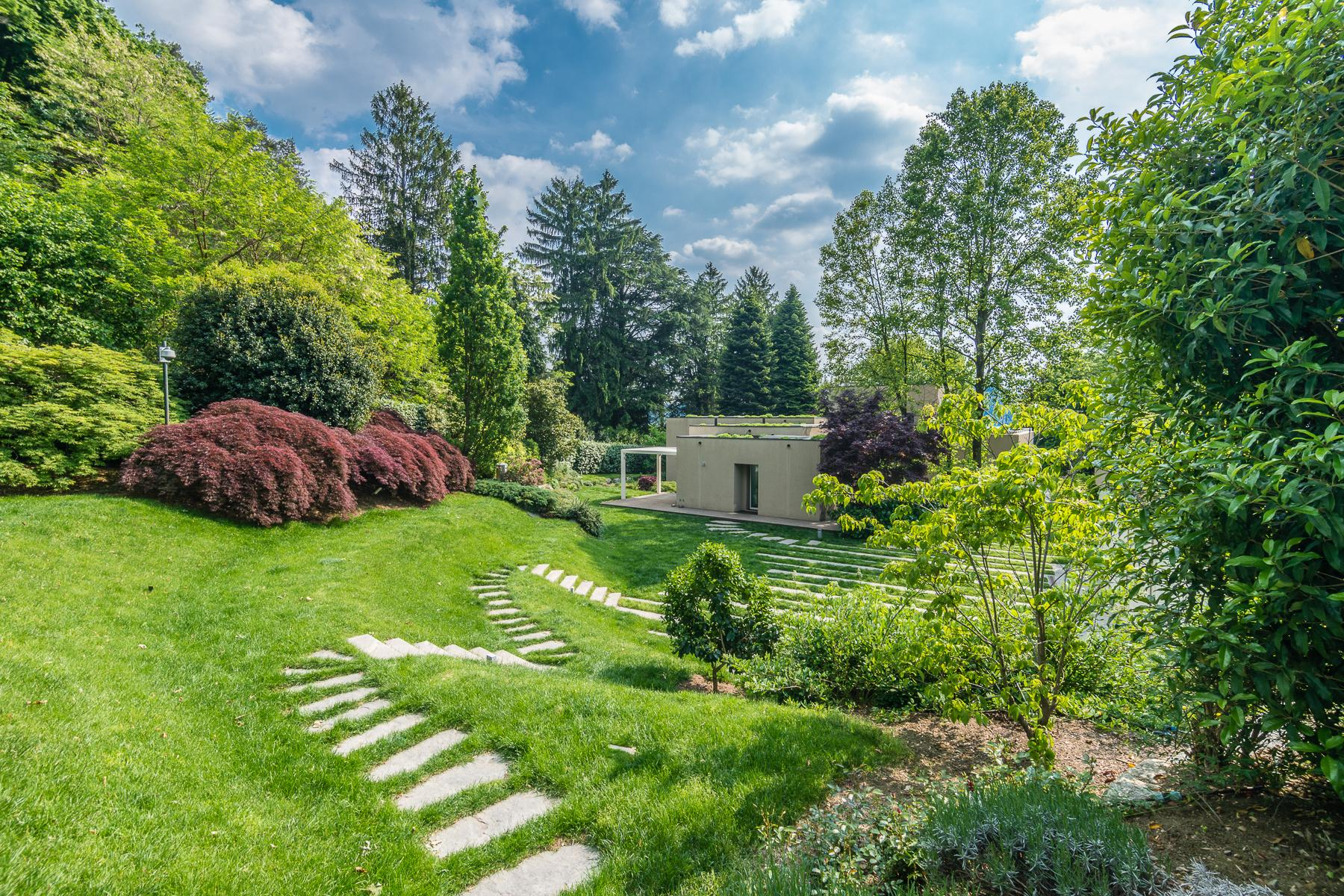 Villa di design eco sostenibile sul Lago Maggiore - 26