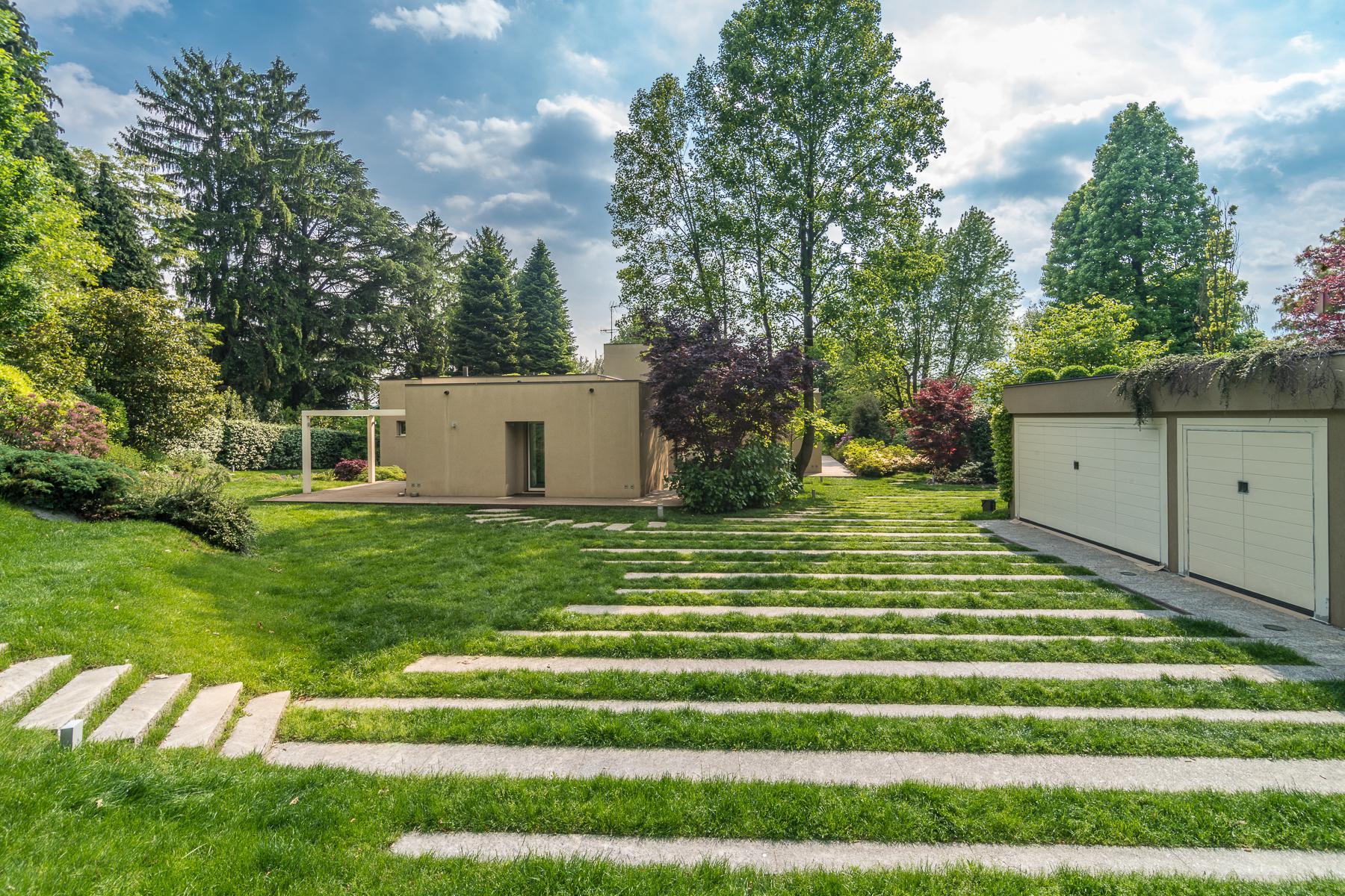 Villa di design eco sostenibile sul Lago Maggiore - 25