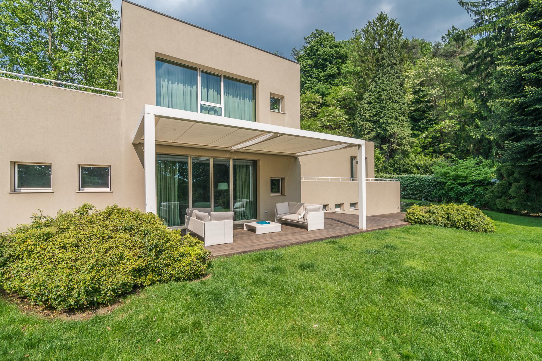 Villa di design eco sostenibile sul Lago Maggiore - 7
