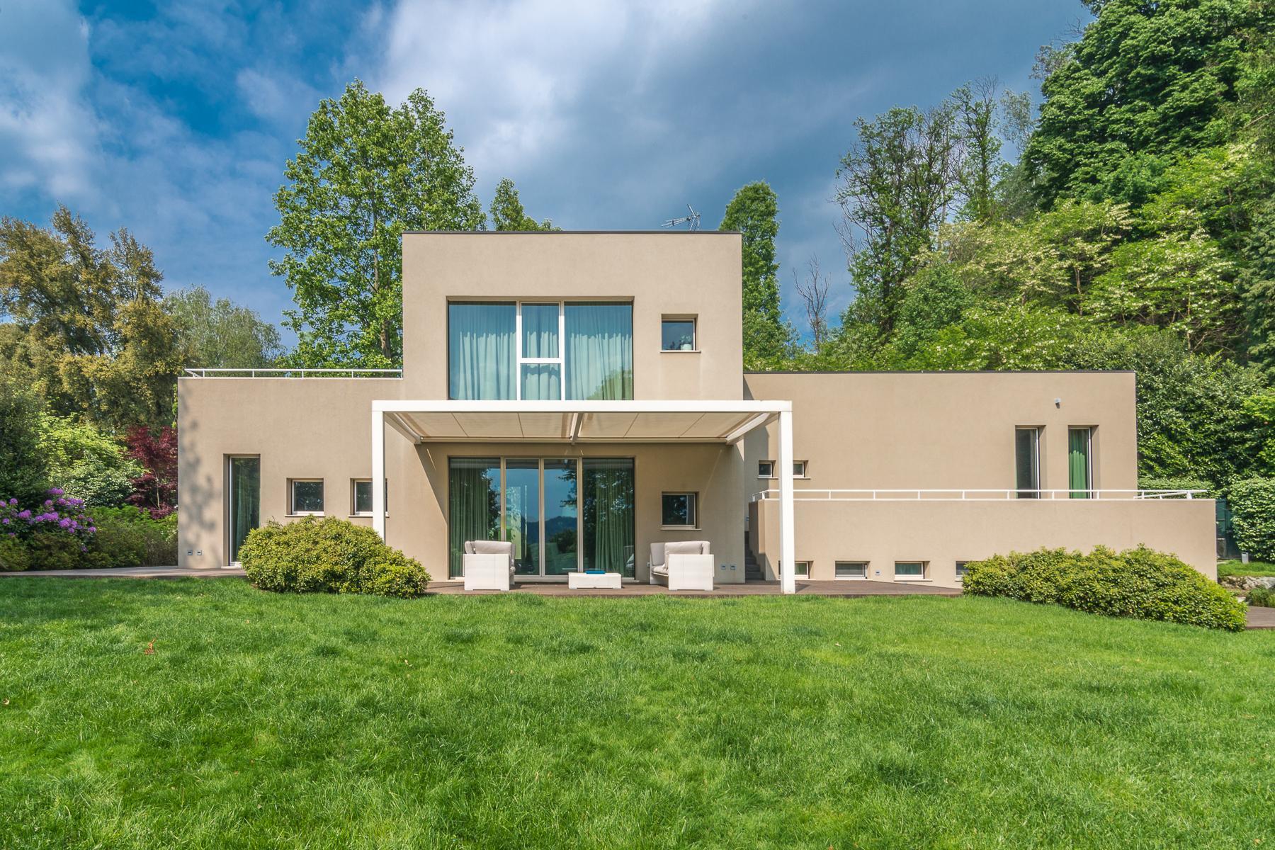 Villa di design eco sostenibile sul Lago Maggiore - 1
