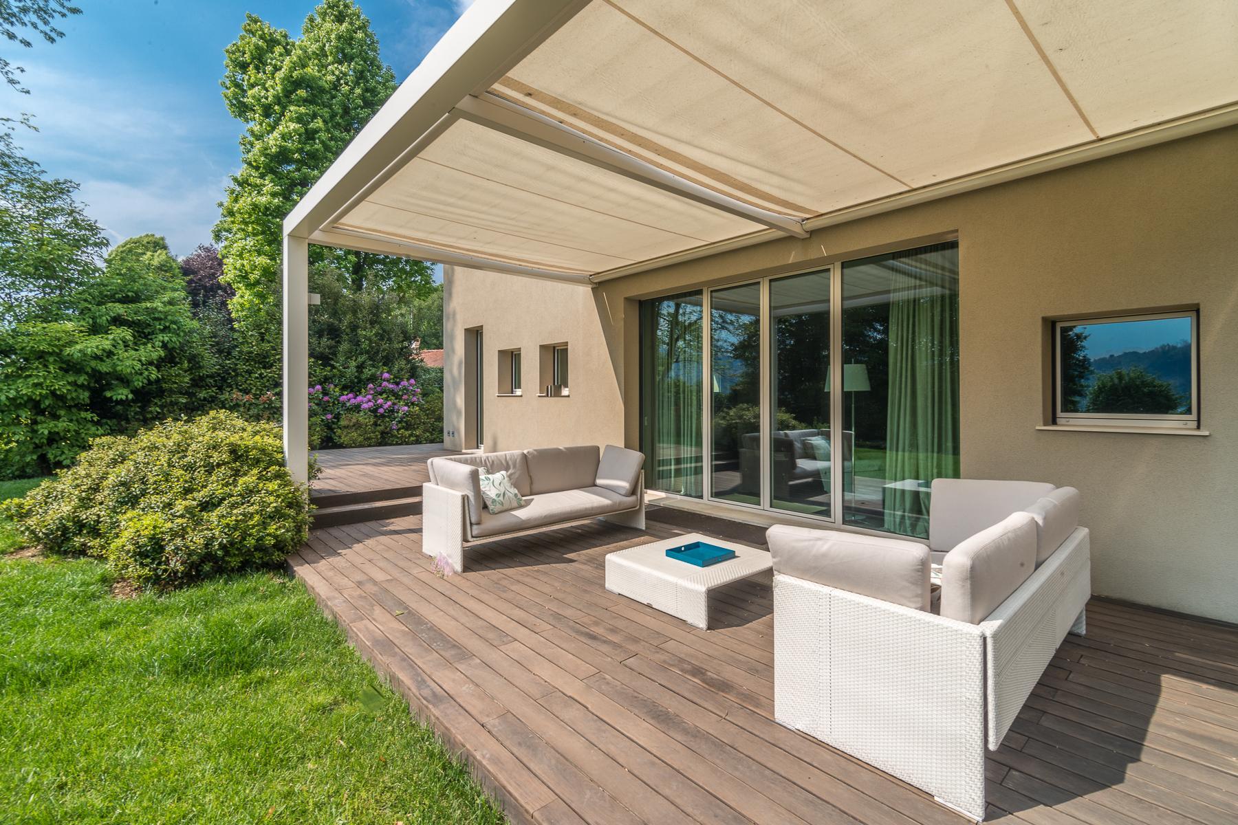 Villa di design eco sostenibile sul Lago Maggiore - 5