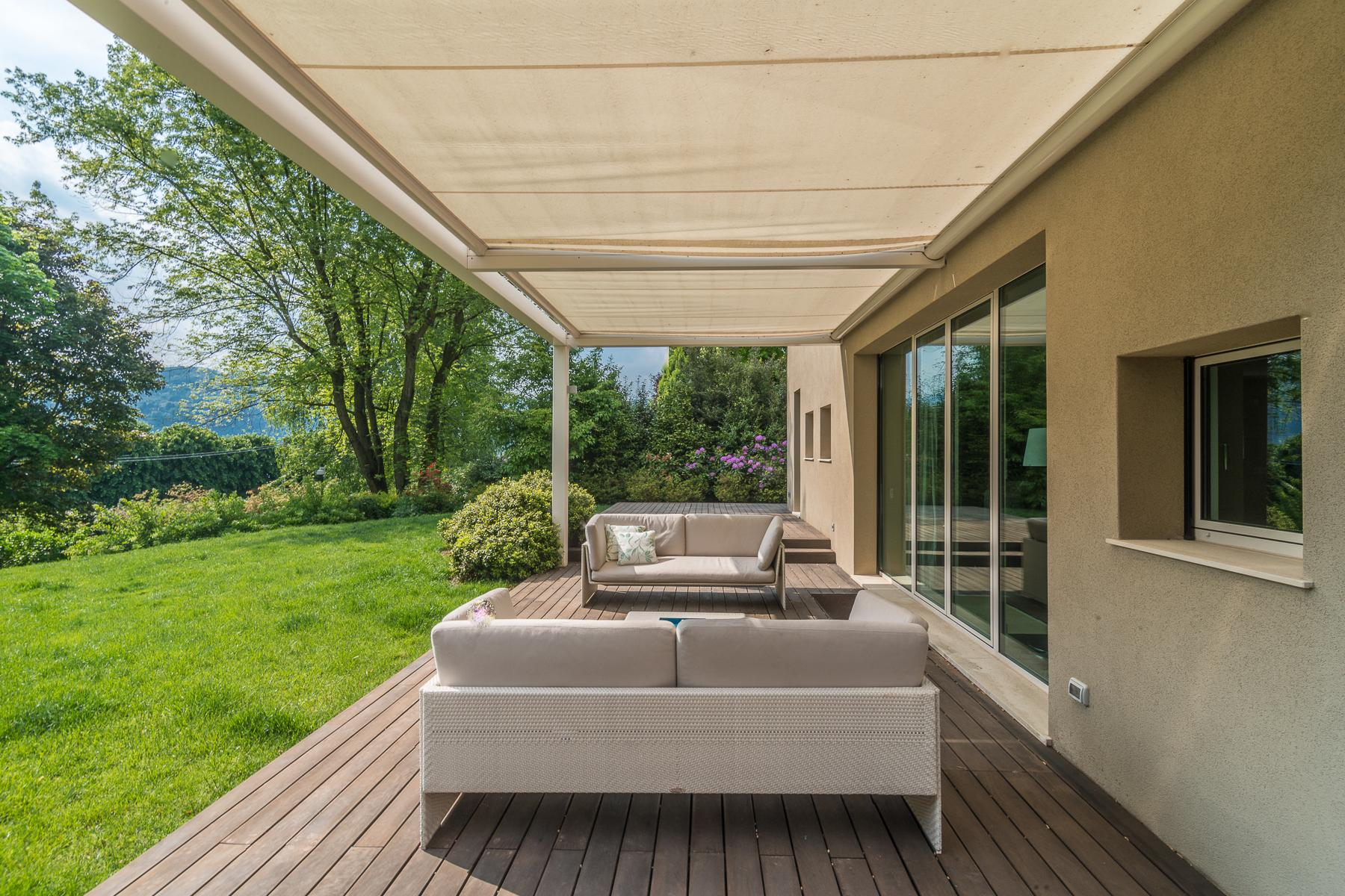Maggiore湖泊生态友好设计独特的别墅 - 6
