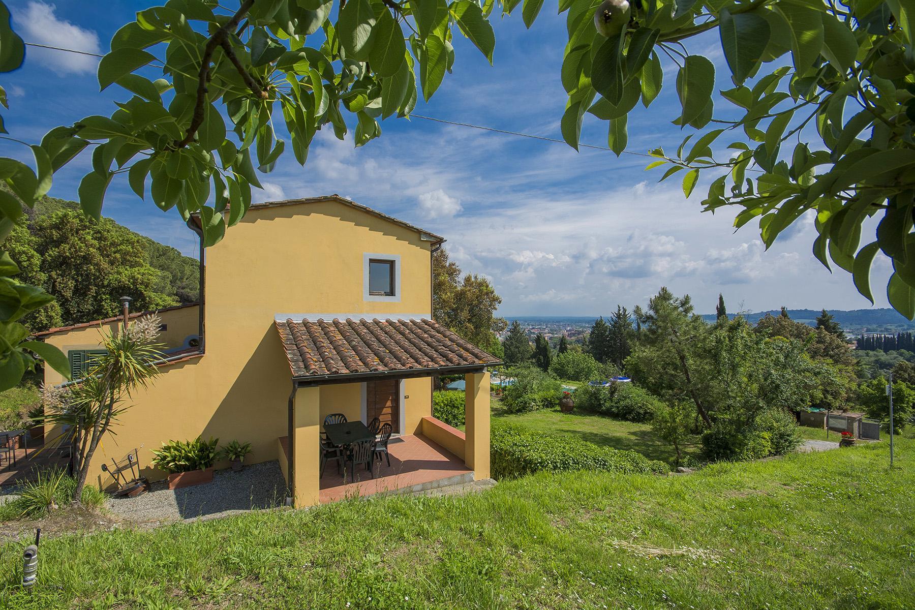 Pescia小山丘上美丽的乡间农舍 - 35
