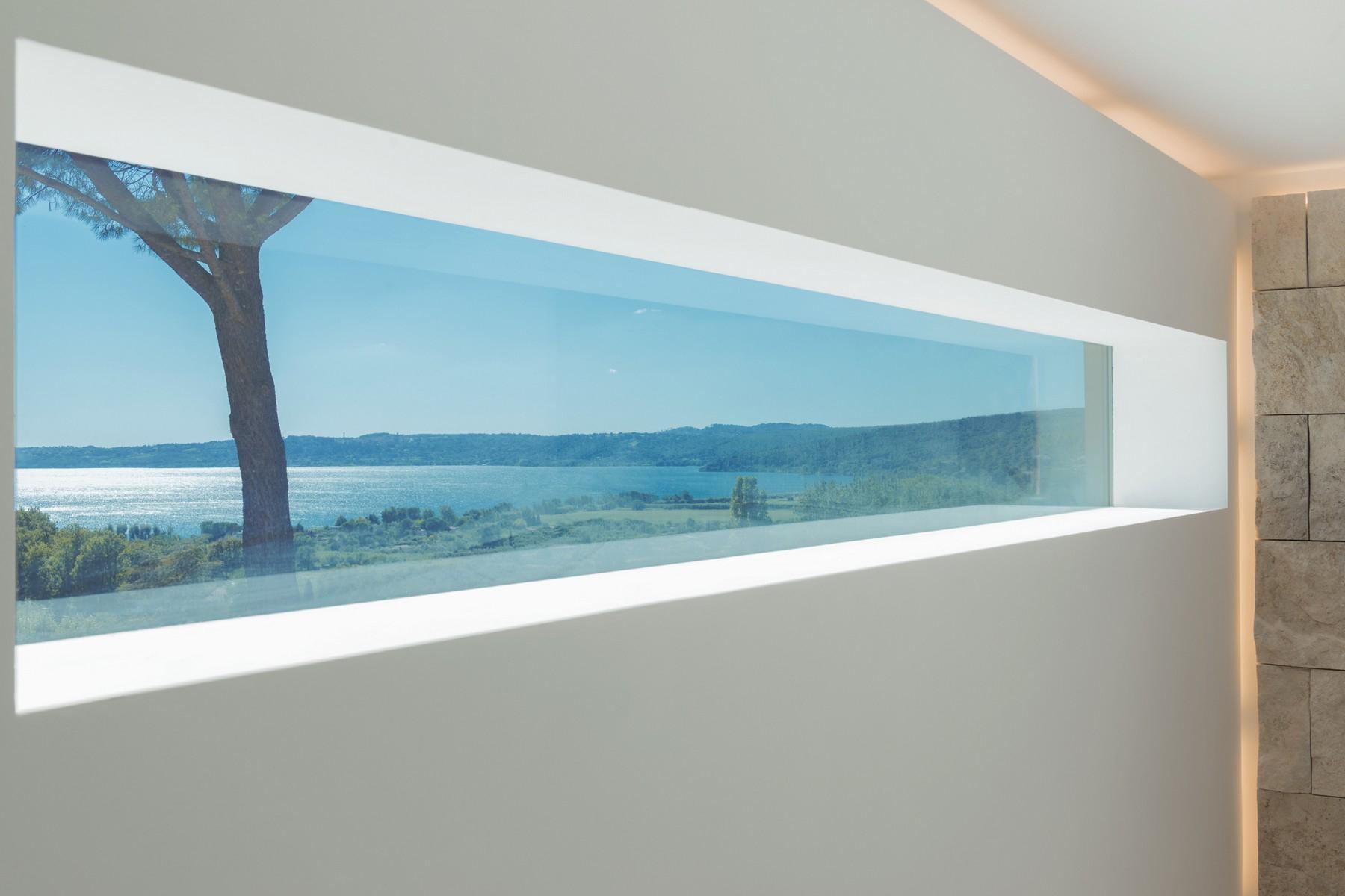 Modern penthouse overlooking Lake Bracciano - 9