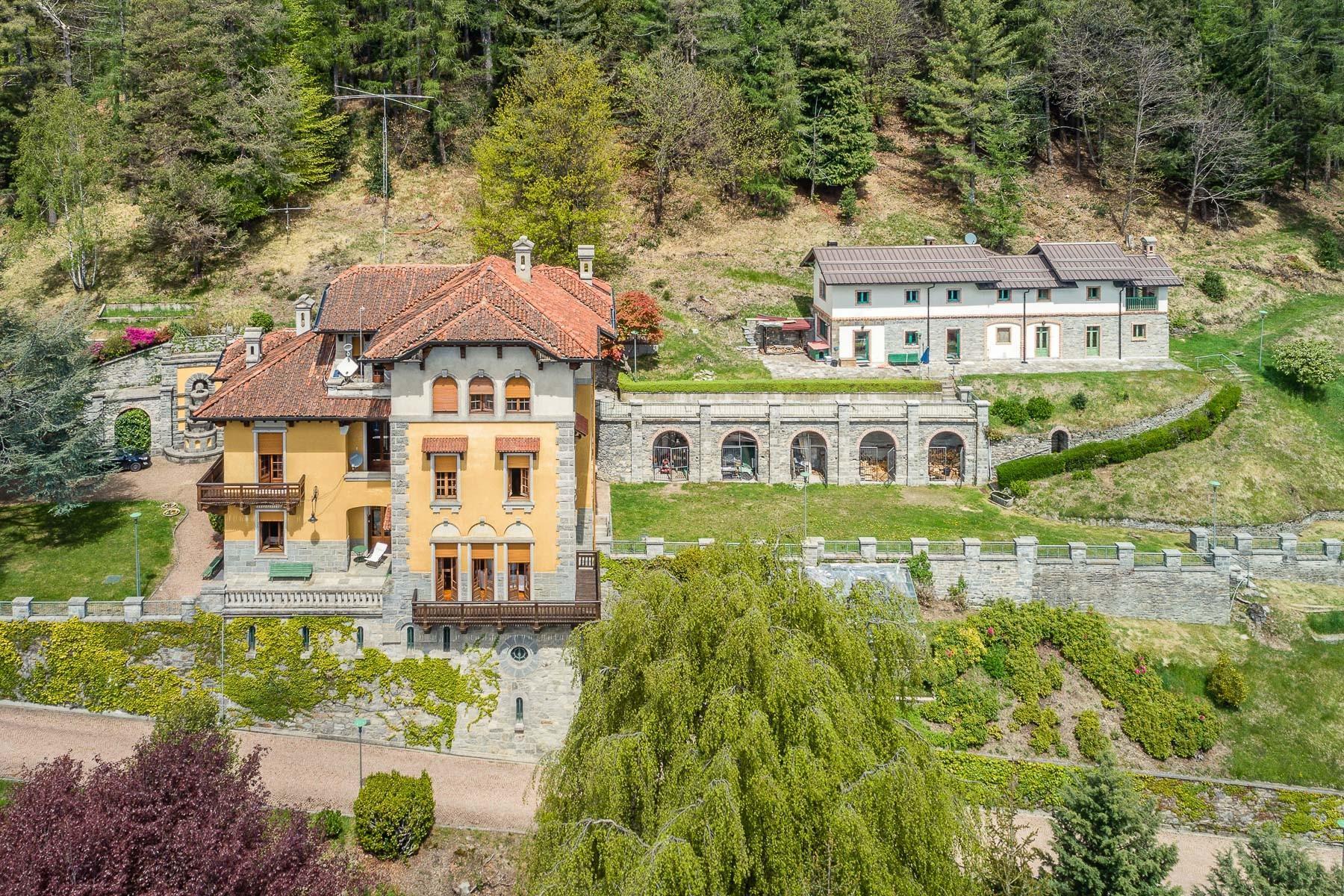 Villa storica in parco centenario sul lago Maggiore - 5