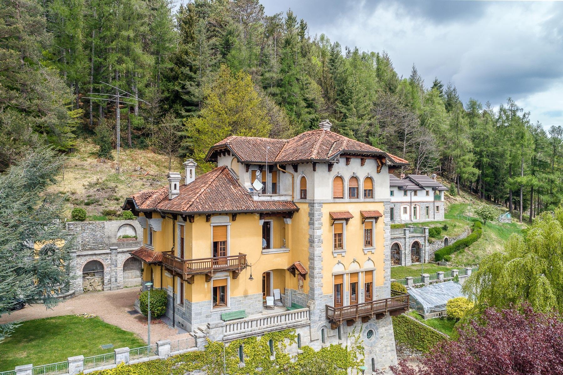Villa storica in parco centenario sul lago Maggiore - 6