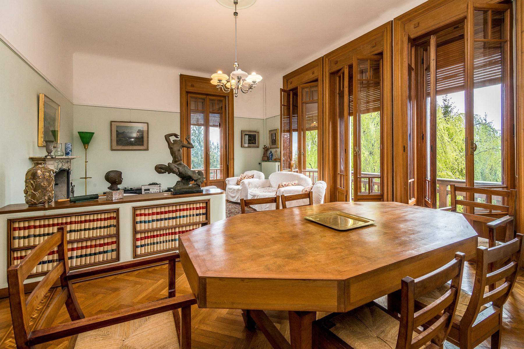 Villa historique dans un parc centenaire sur lac Majeur - 11