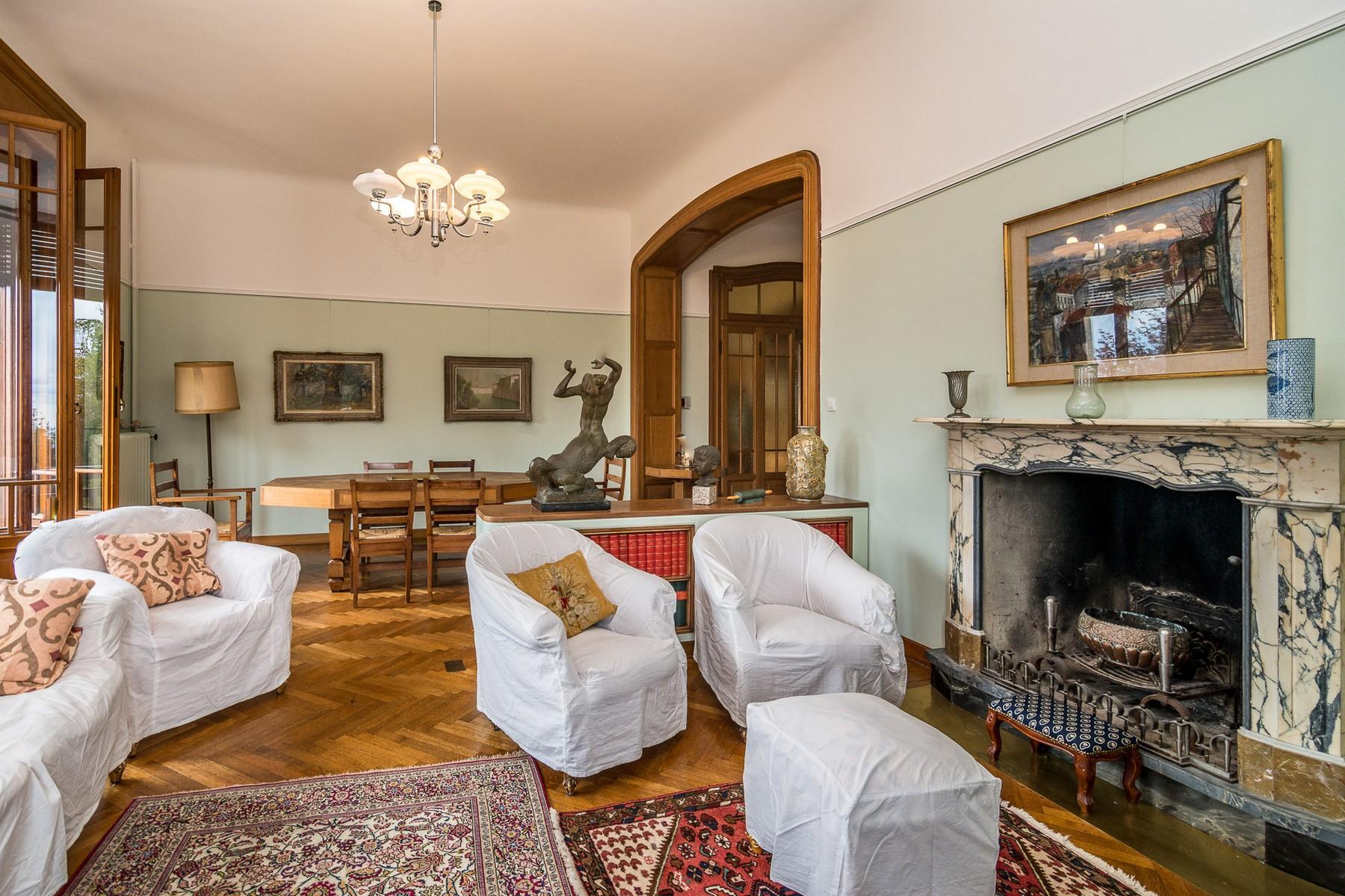 Villa historique dans un parc centenaire sur lac Majeur - 12