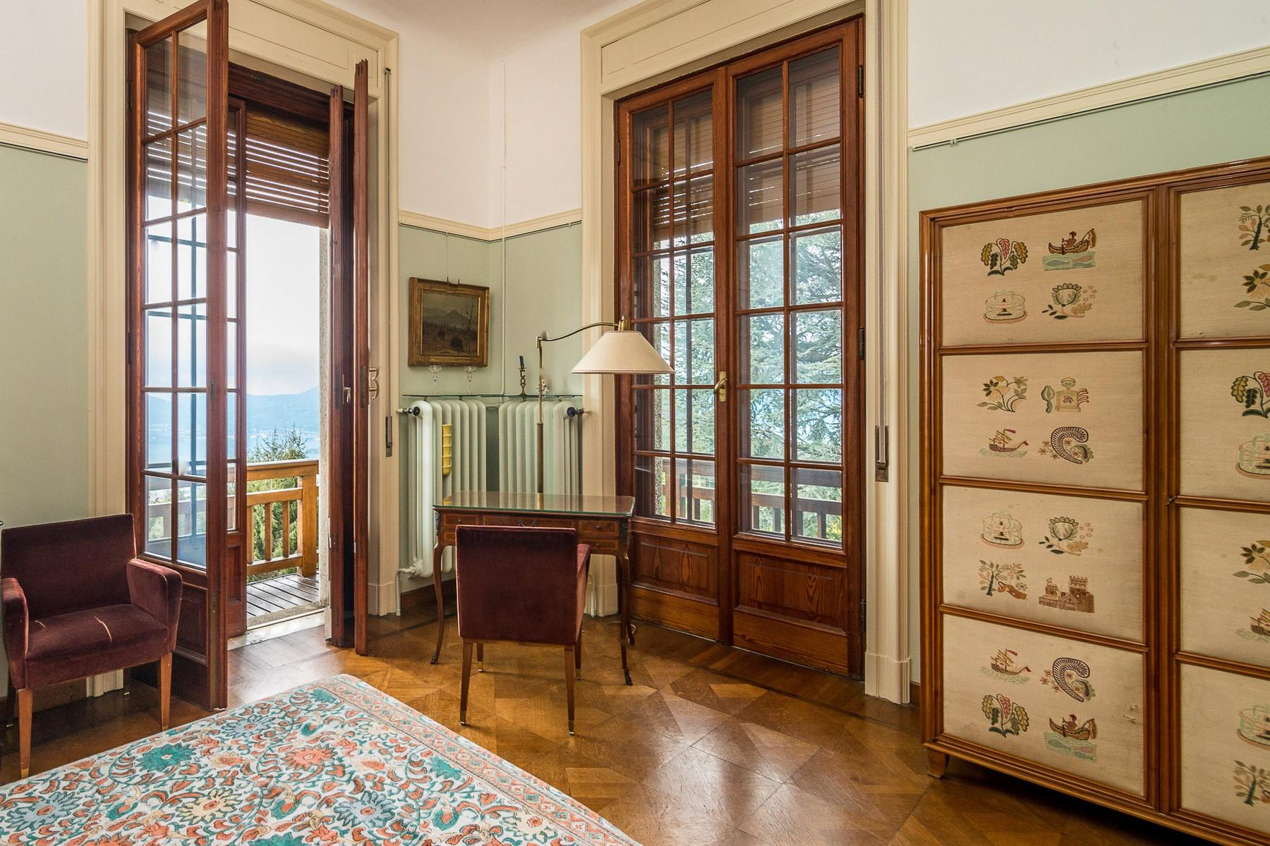 Villa historique dans un parc centenaire sur lac Majeur - 13