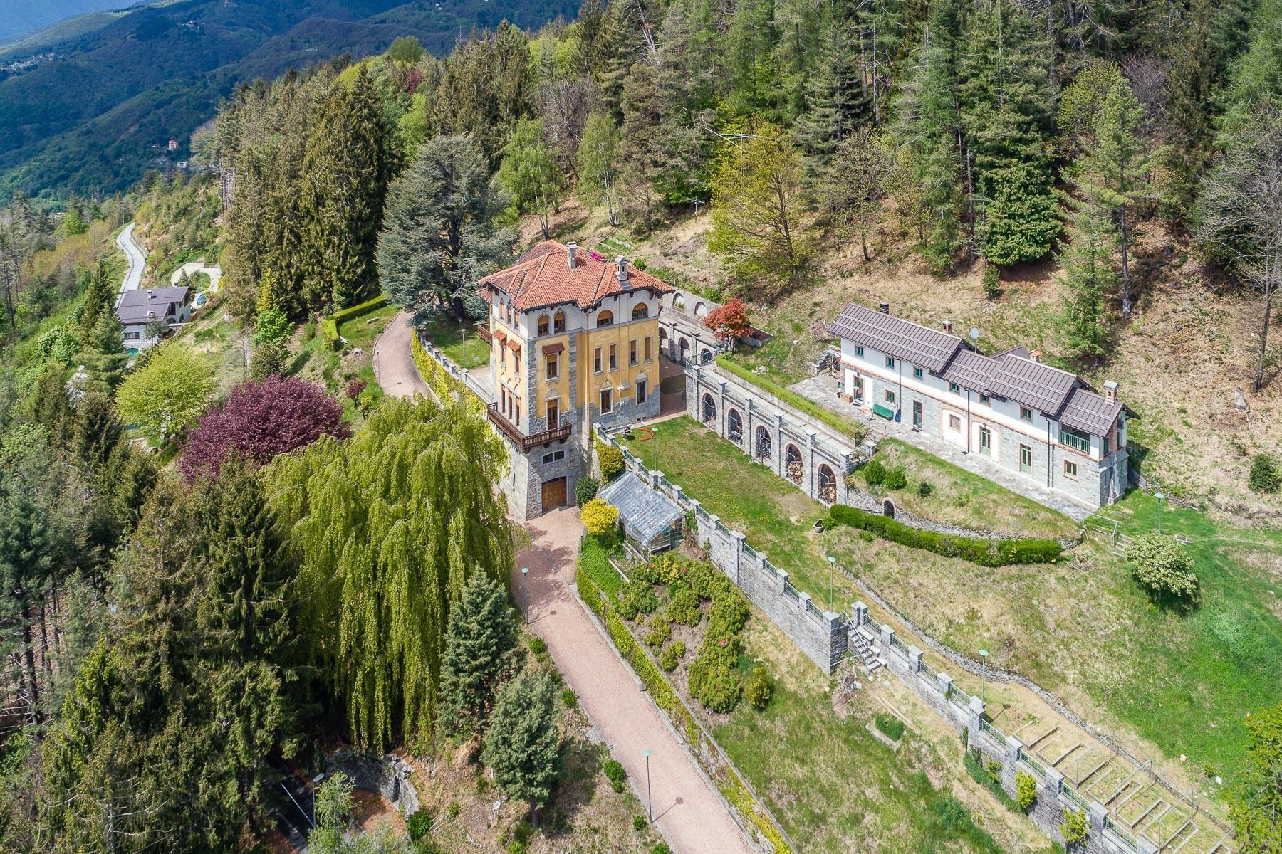 Villa historique dans un parc centenaire sur lac Majeur - 21