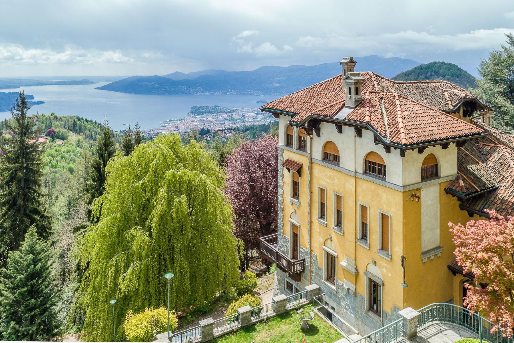 Villa historique dans un parc centenaire sur lac Majeur - 22