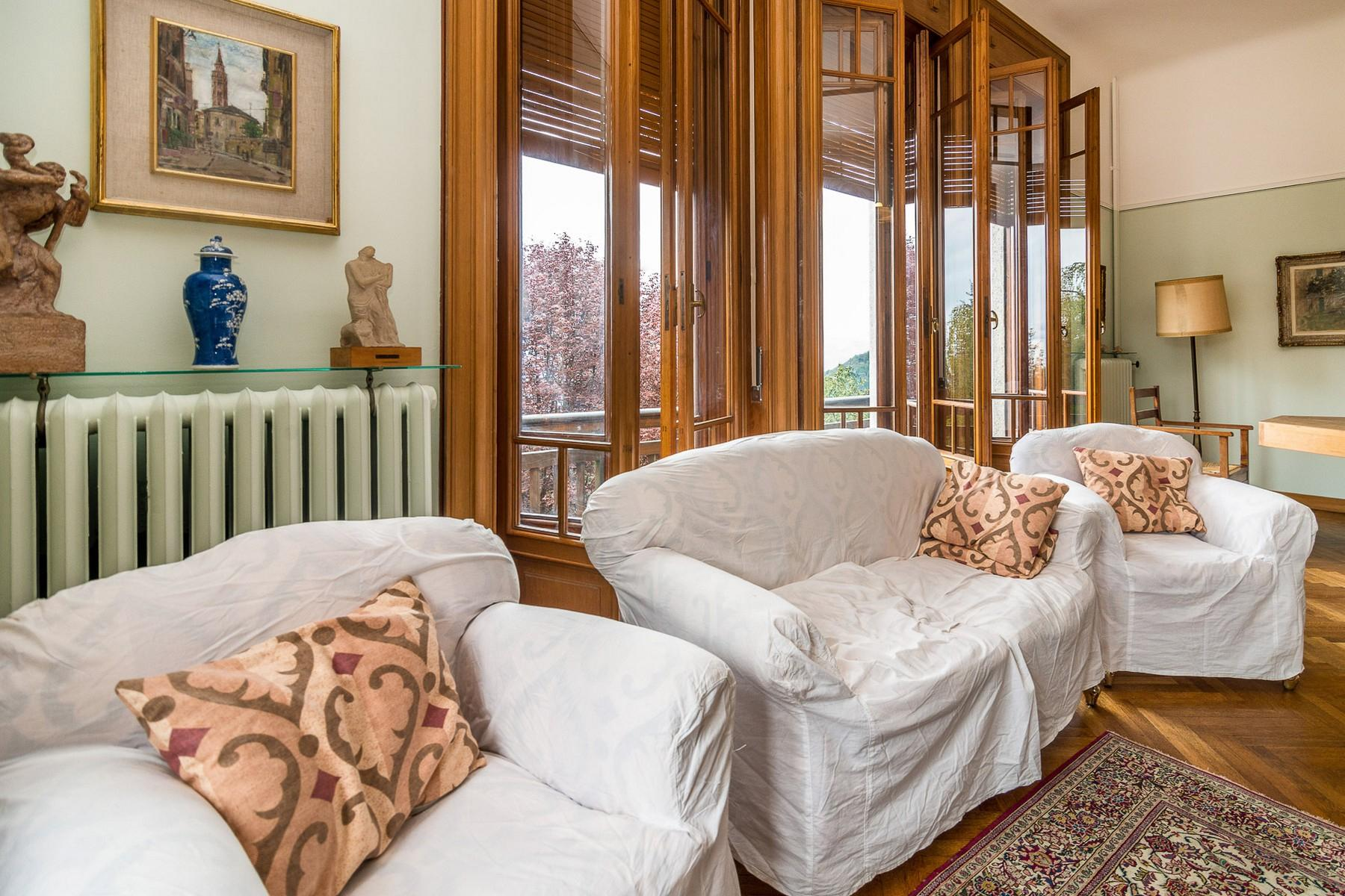 Historische Villa im jahrhundertalten Park am Lago Maggiore - 14