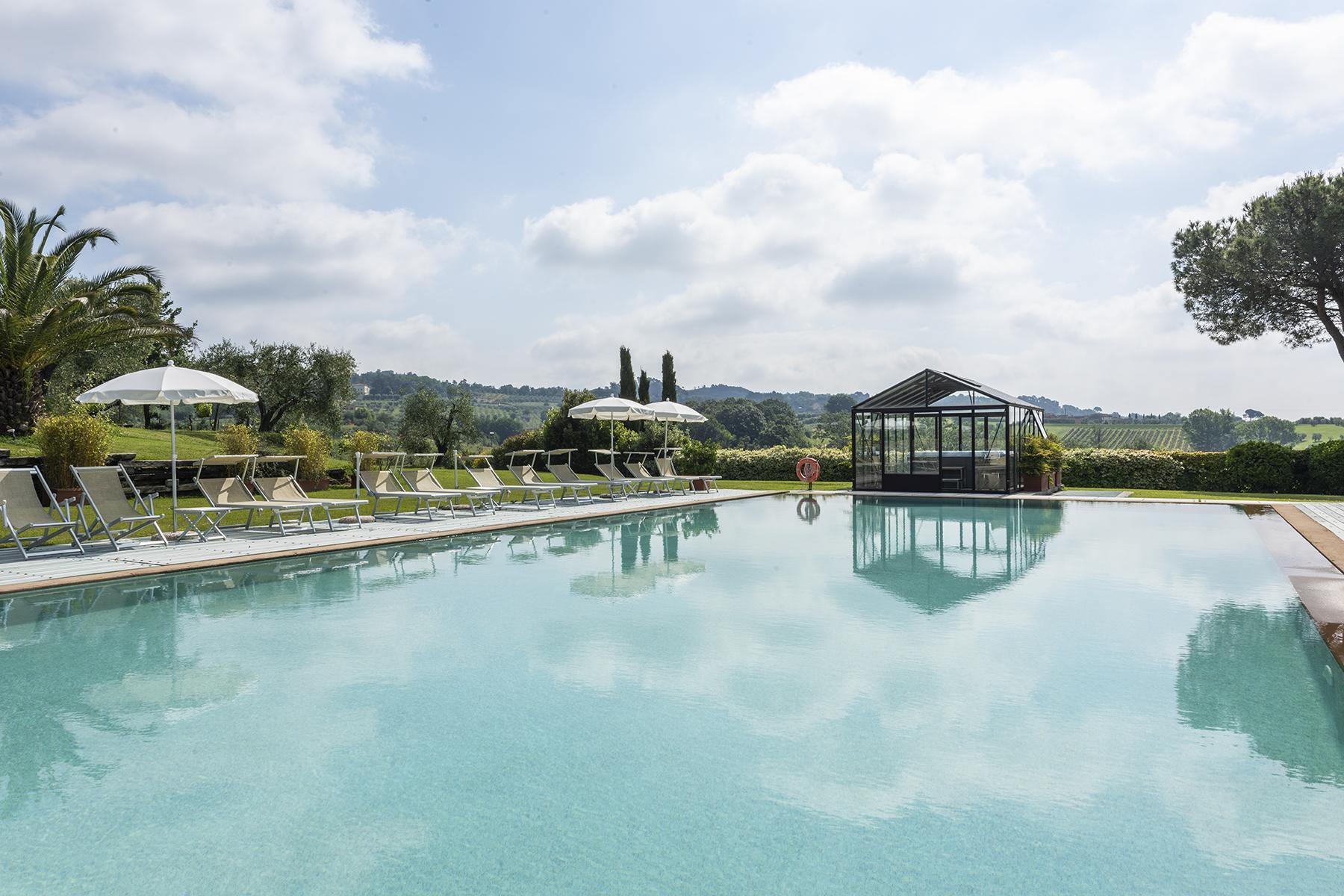 Luxus-Bauernhaus mit Stall in Toskana - 13