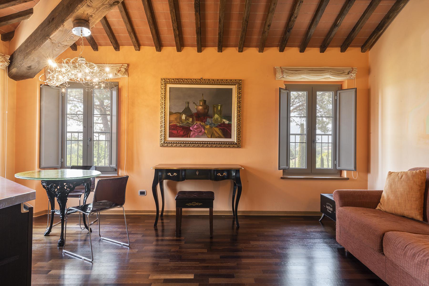 Luxus-Bauernhaus mit Stall in Toskana - 2
