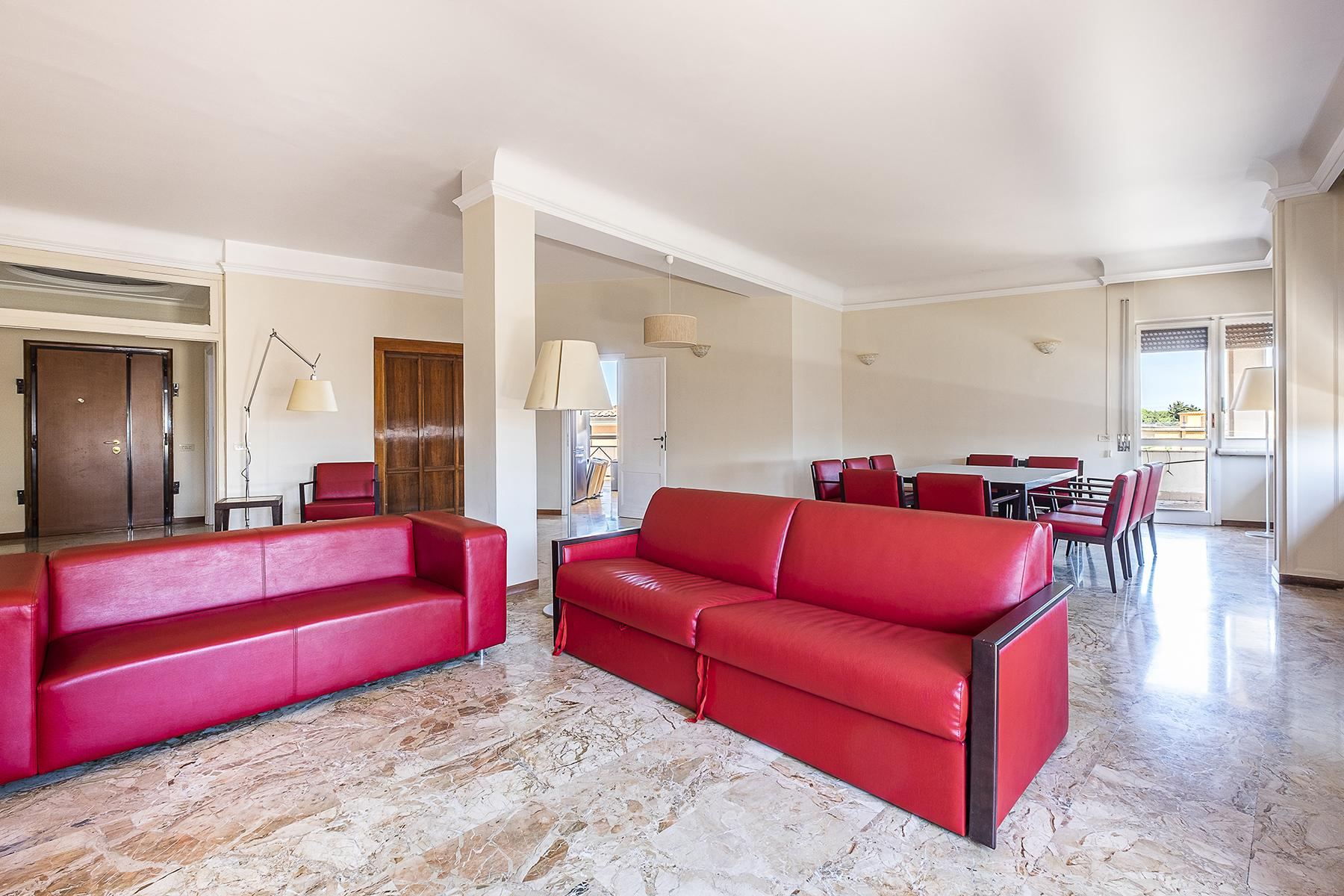 Wide apartment with terraces near Villa Torlonia - 5