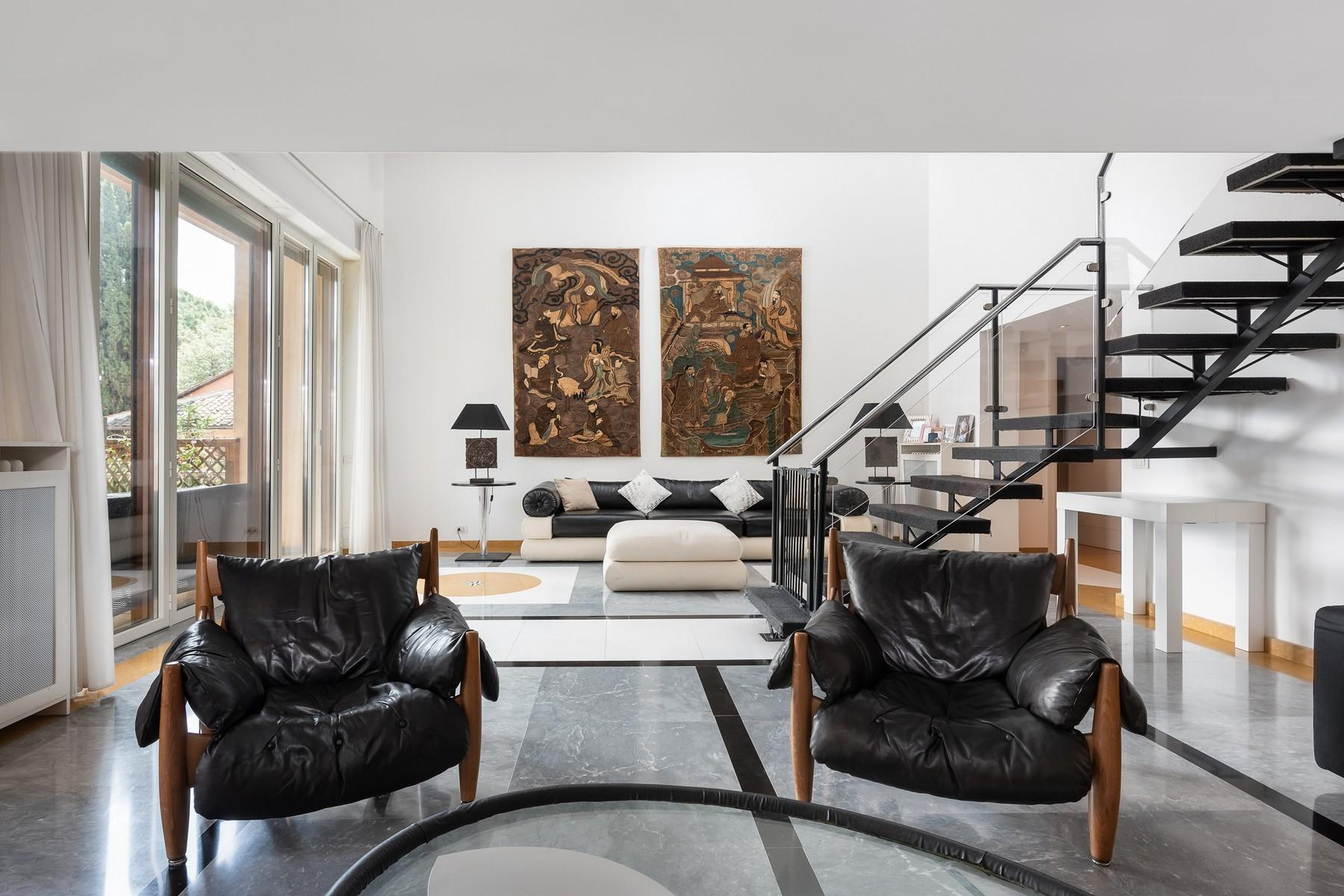 Wide and bright apartment overlooking Villa Borghese - 1