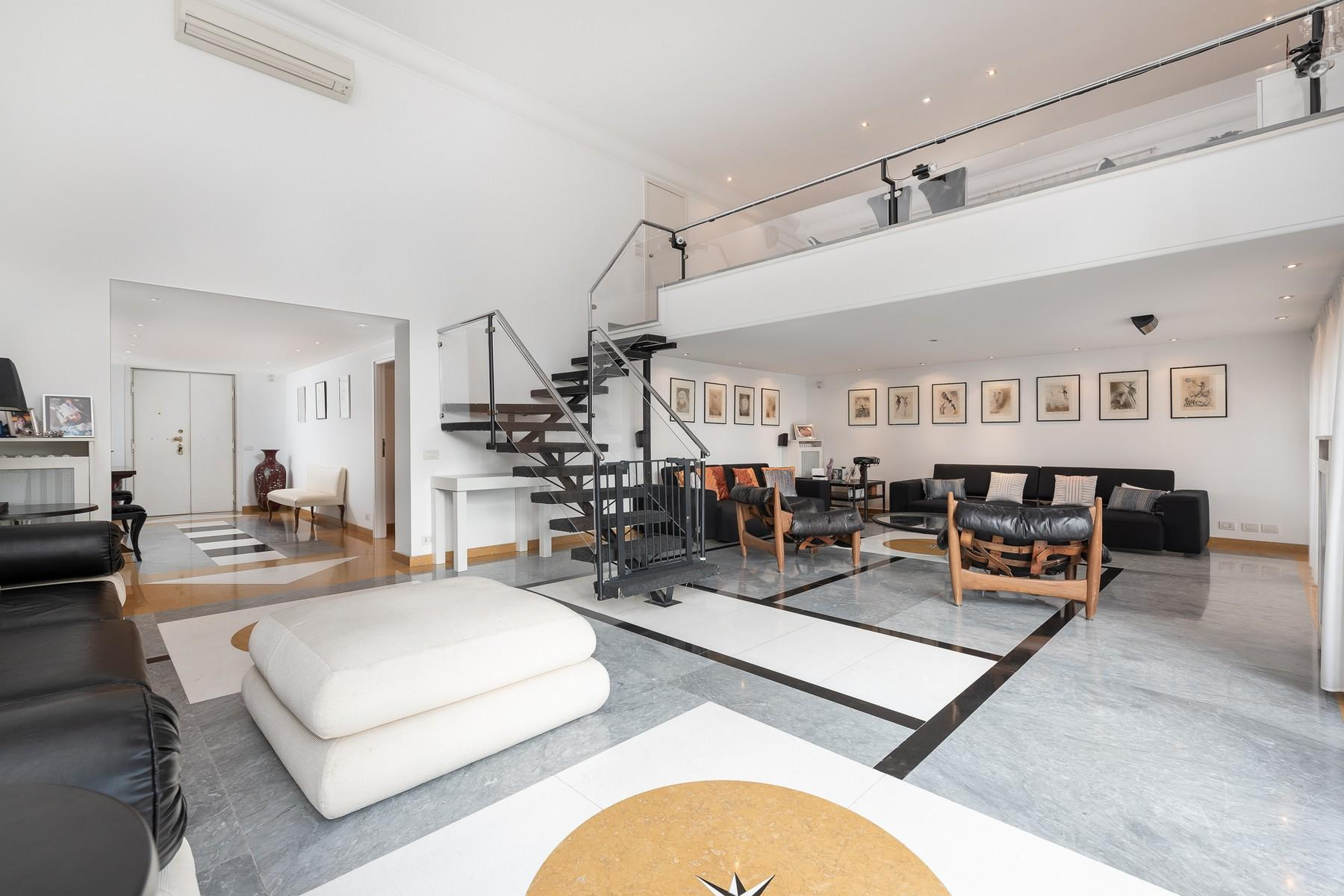 Wide and bright apartment overlooking Villa Borghese - 6