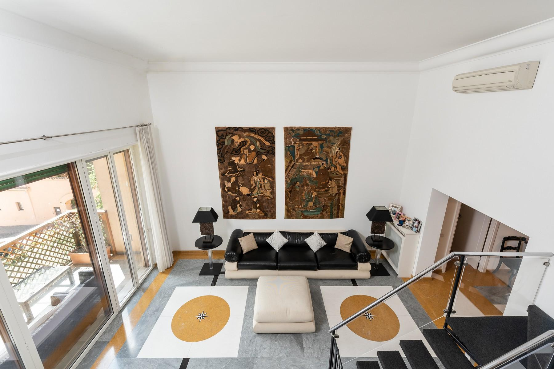 Wide and bright apartment overlooking Villa Borghese - 3