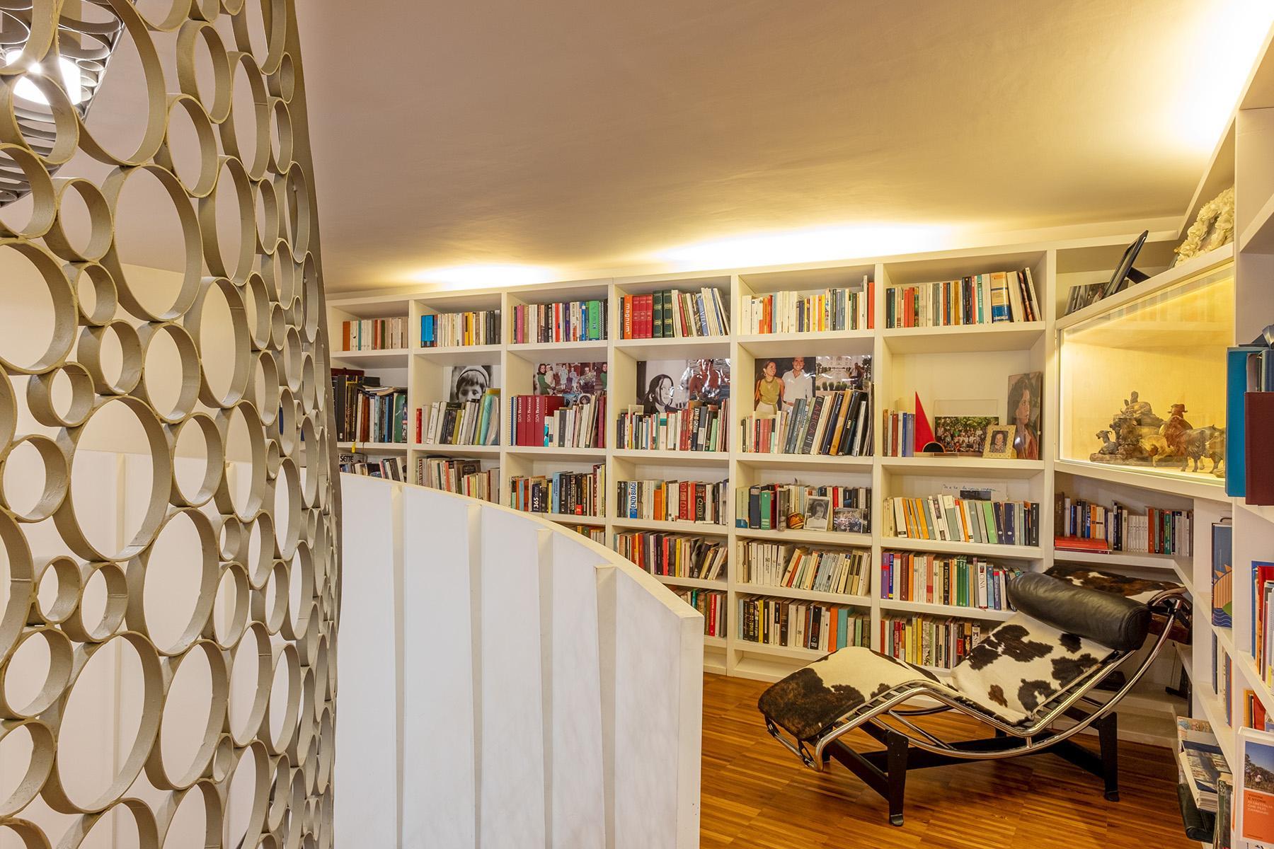 Eklekltische Design-Wohnung mit Terrassen im historischen Palast - 3