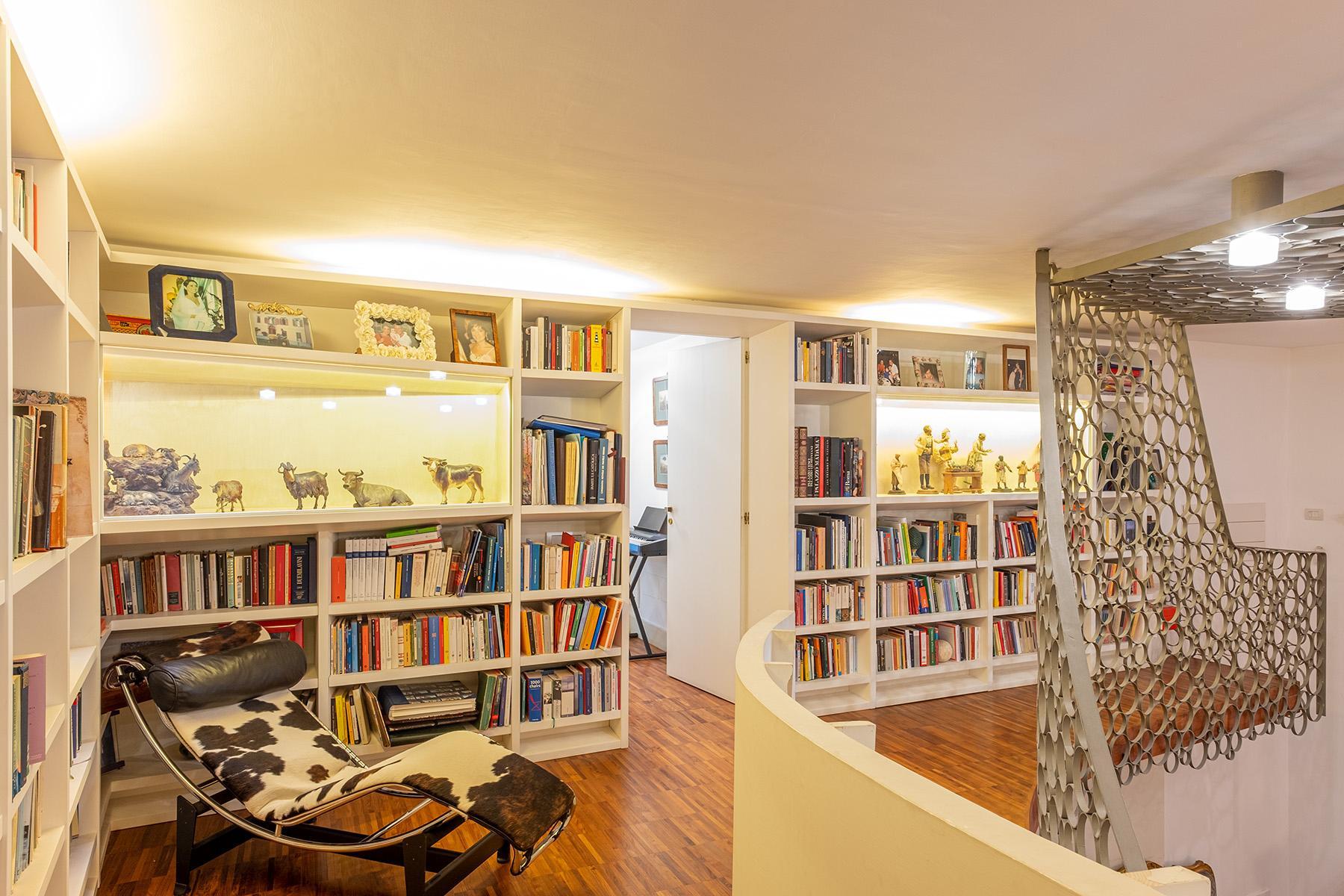 Eklekltische Design-Wohnung mit Terrassen im historischen Palast - 4