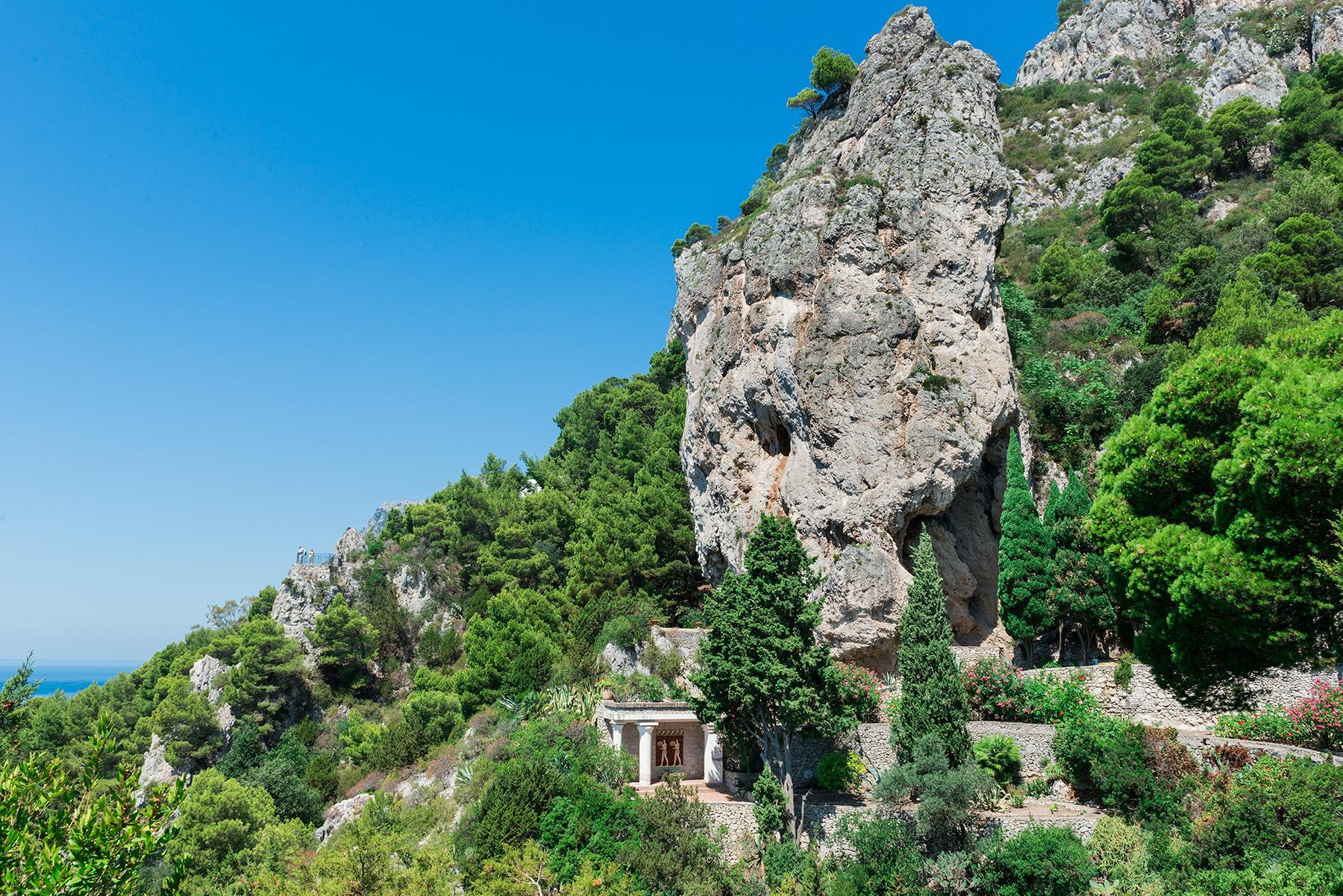 Remarquable villa avec un panorama à couper le souffle sur les rochers de Faraglioni - 19