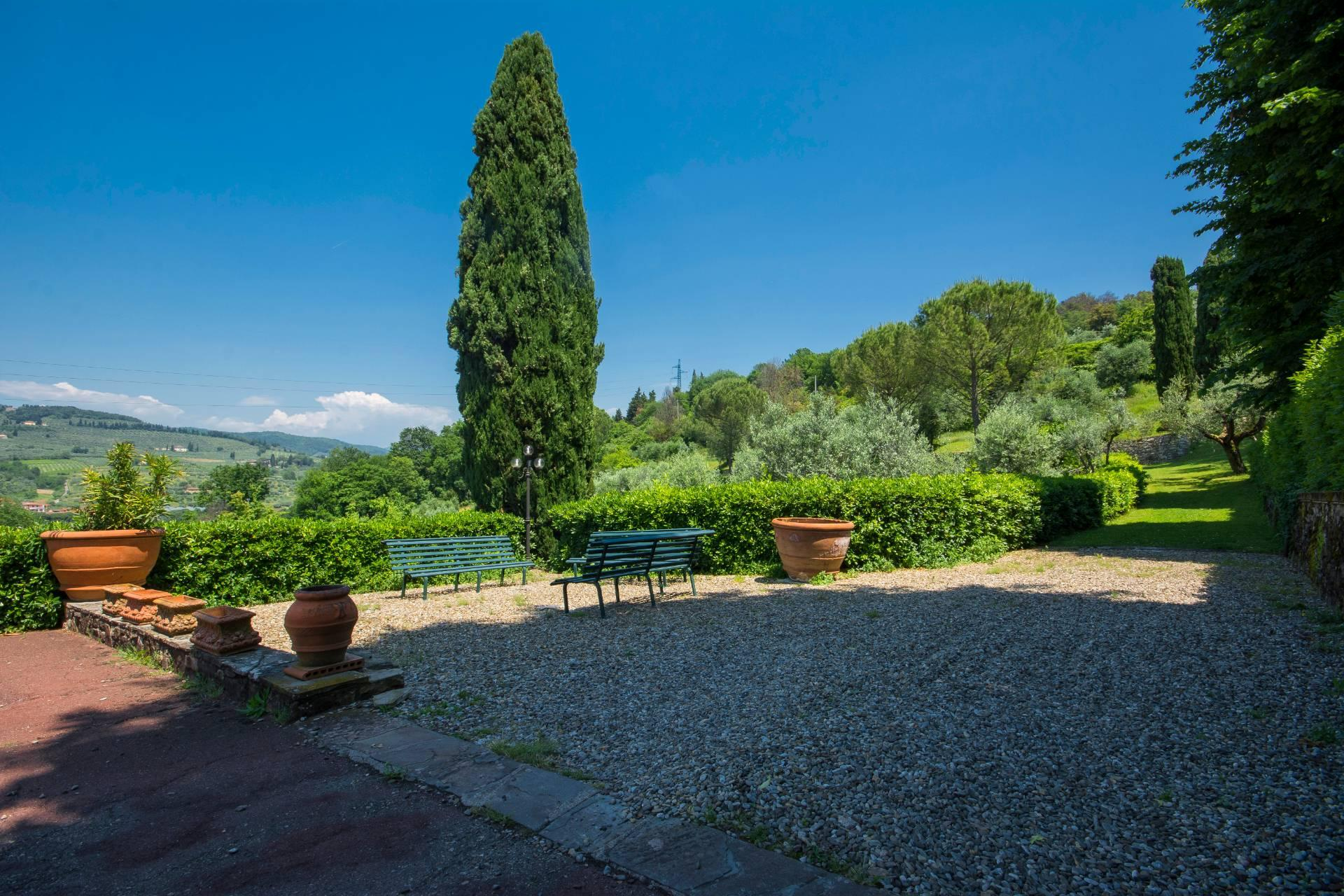 Villa toscane de charme avec vue sur Florence - 7