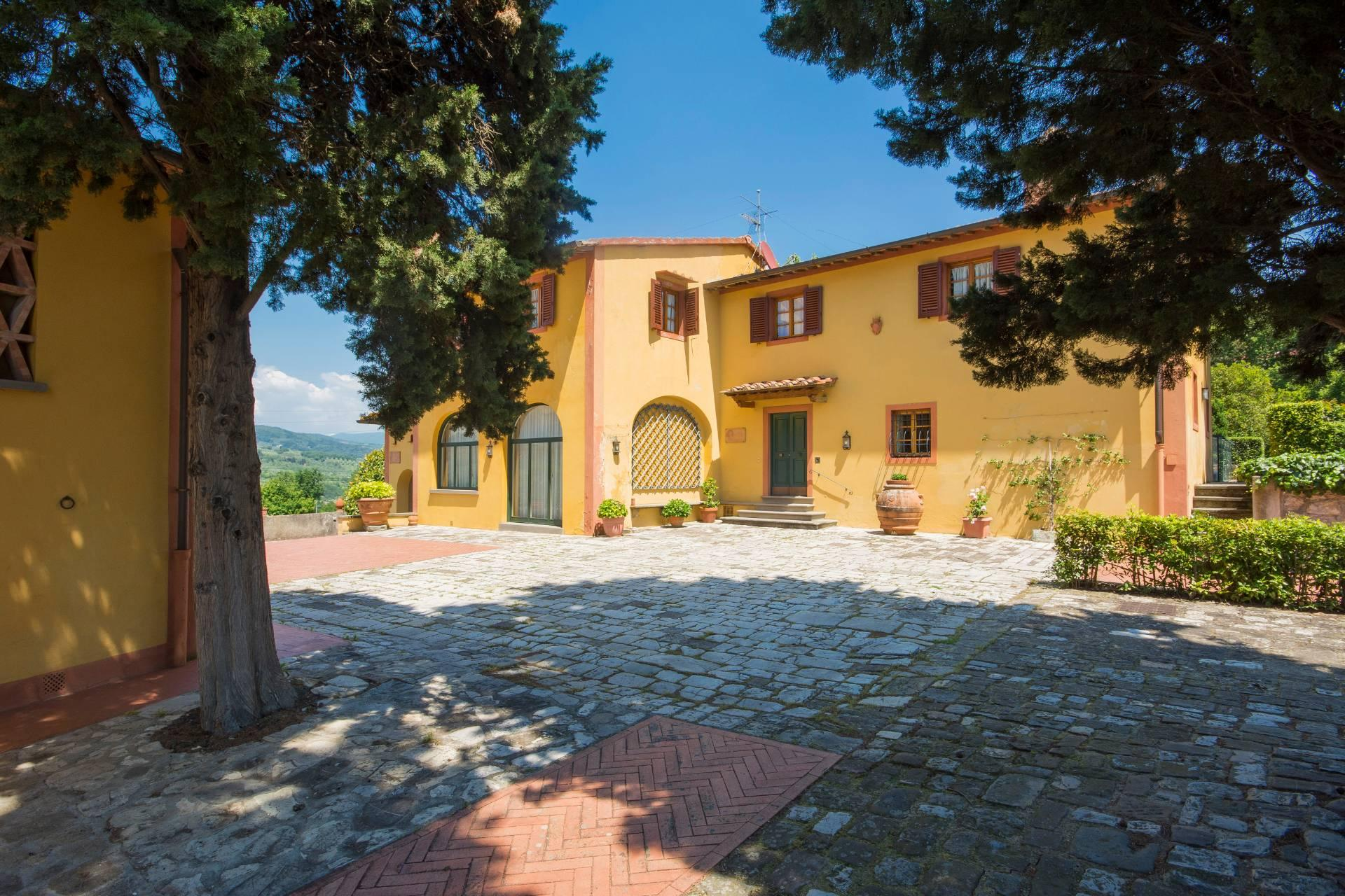 Villa toscane de charme avec vue sur Florence - 28