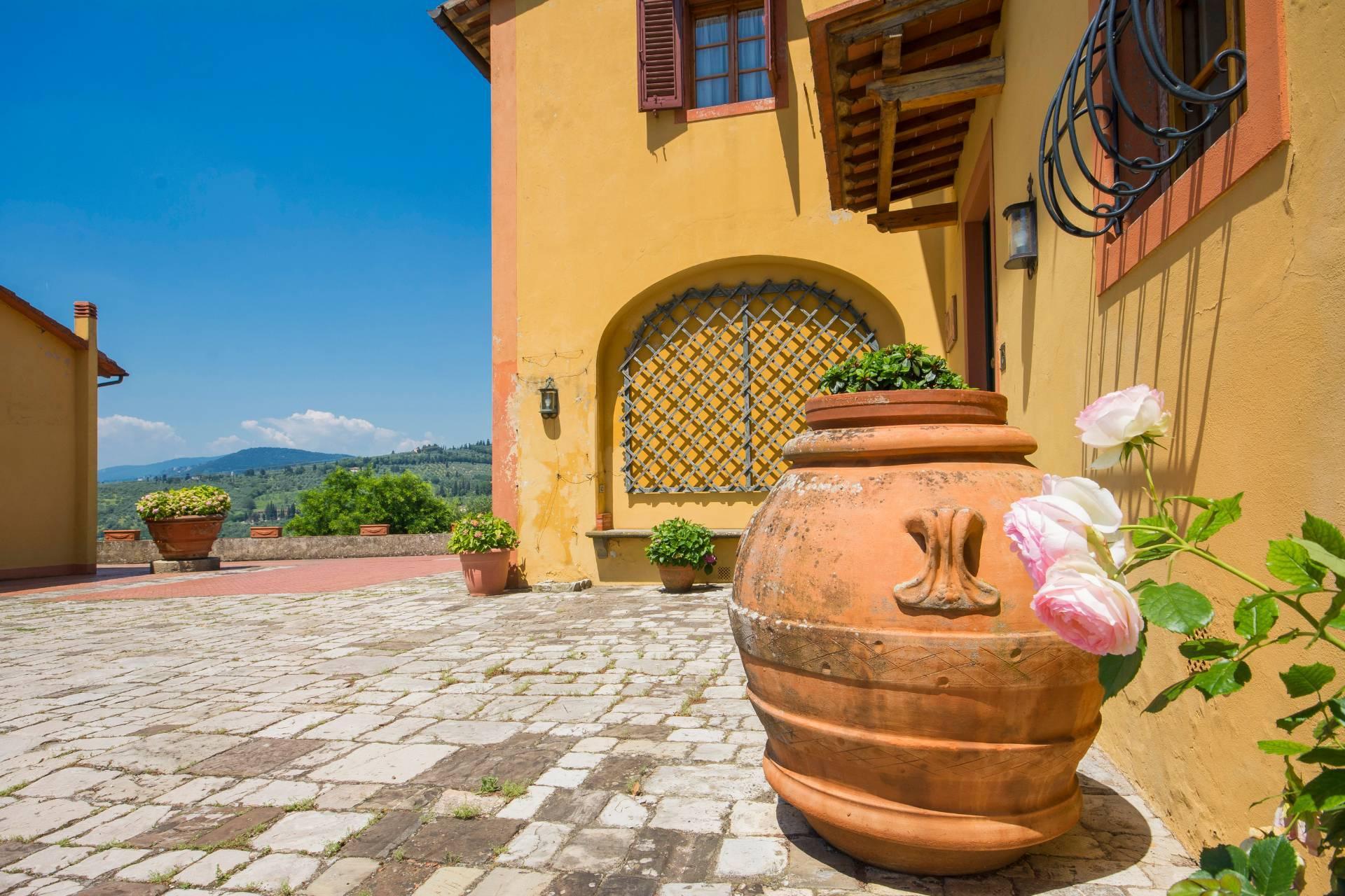 Villa toscane de charme avec vue sur Florence - 29