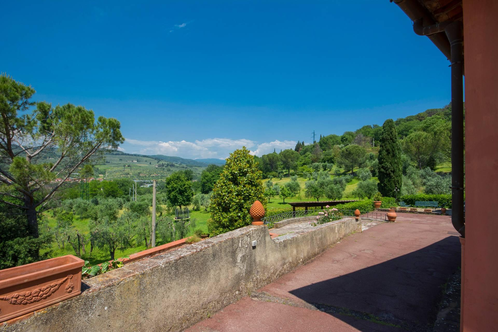 Villa storica con vista su Firenze - 34