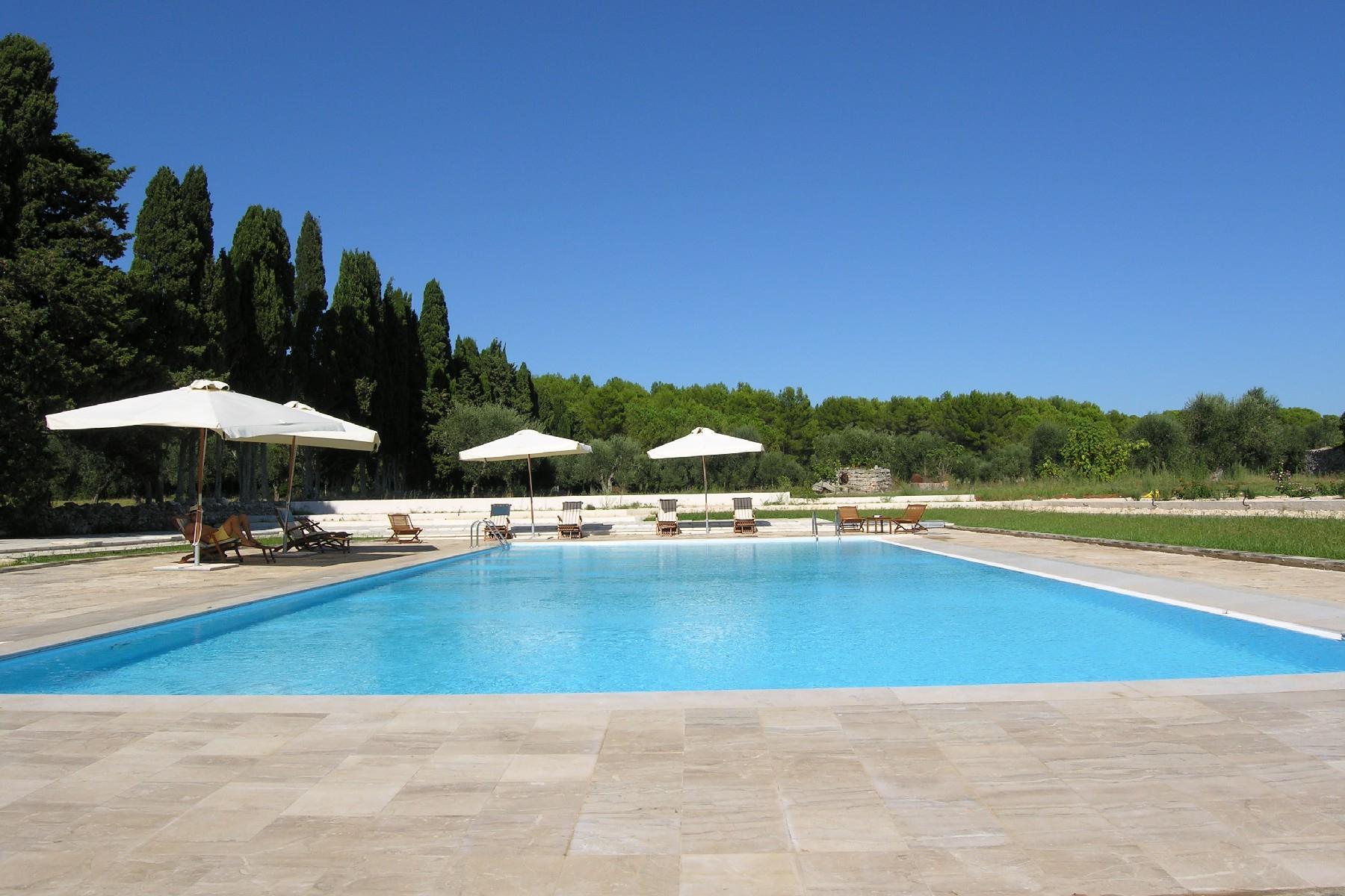 拥有Salento建筑特色典型的Masseria农场 - 13