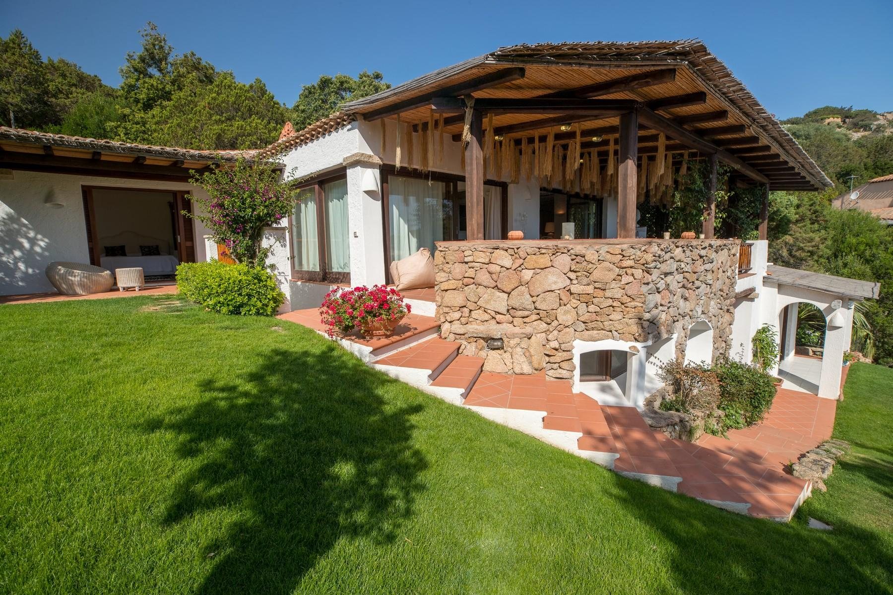 Porto Cervo Pantogia Prestigious sea view Villa immersed in the green - 1