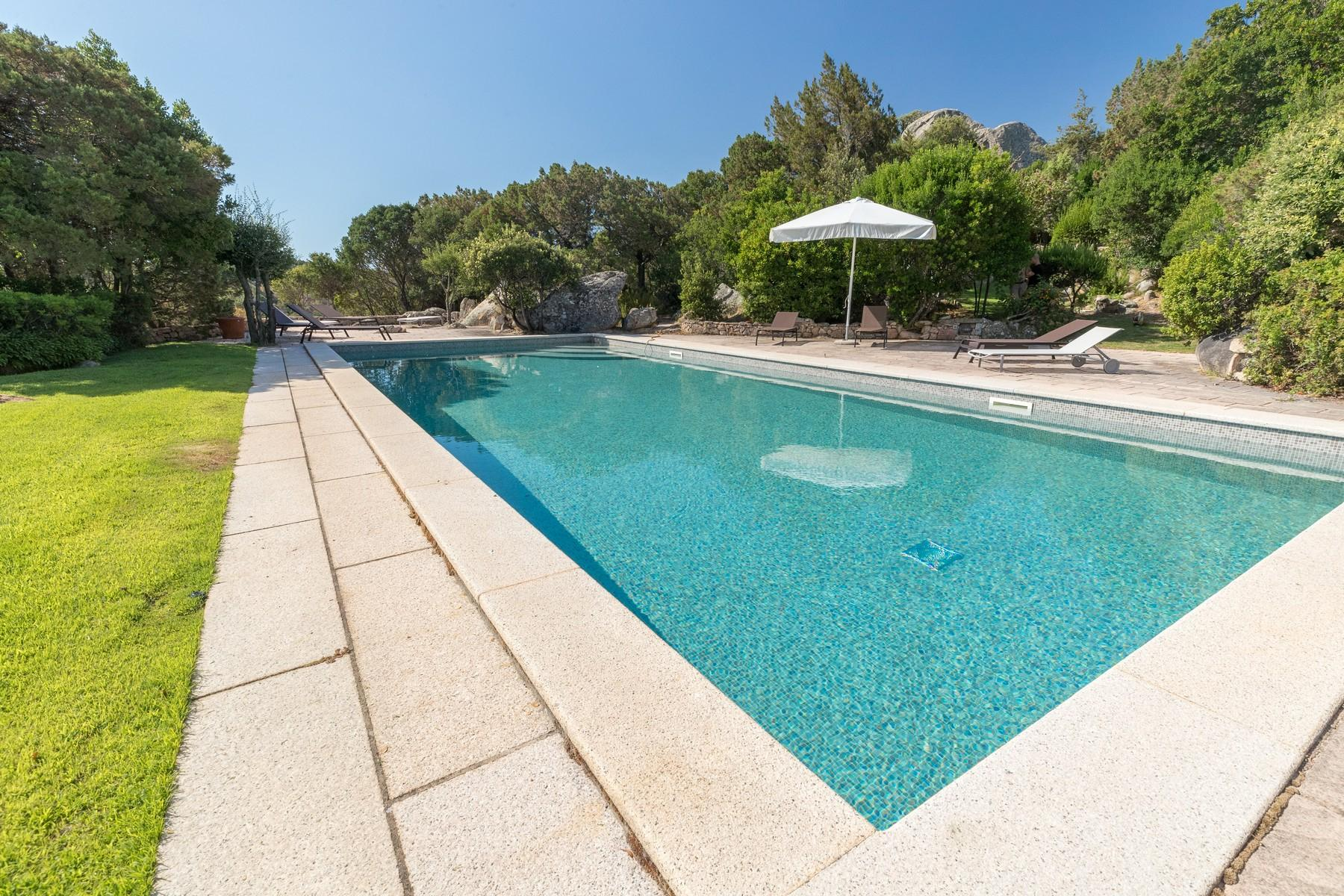 Porto Cervo Pantogia Prestigious sea view Villa immersed in the green - 3