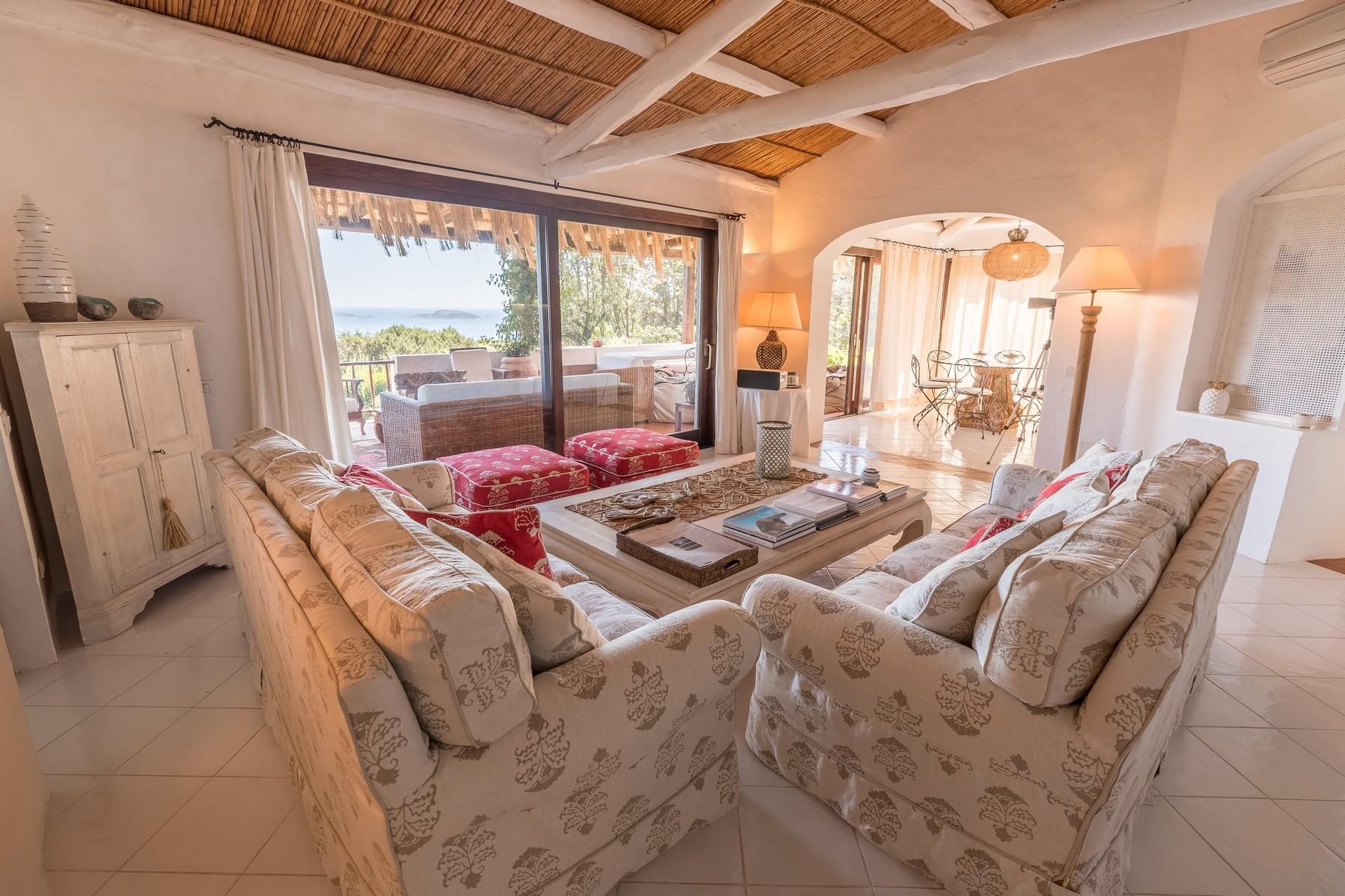Porto Cervo Pantogia Prestigious sea view Villa immersed in the green - 9