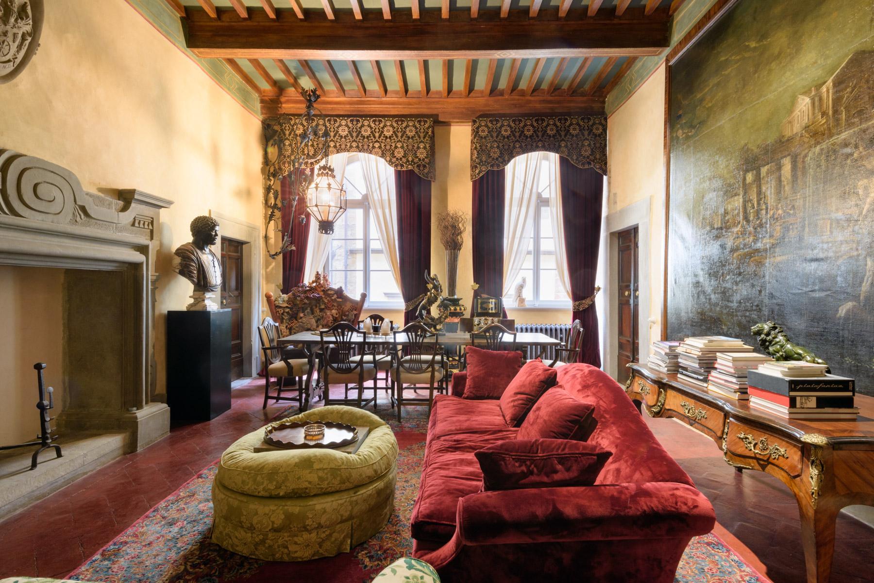 Unique palais historique de luxe à Cortona - 1