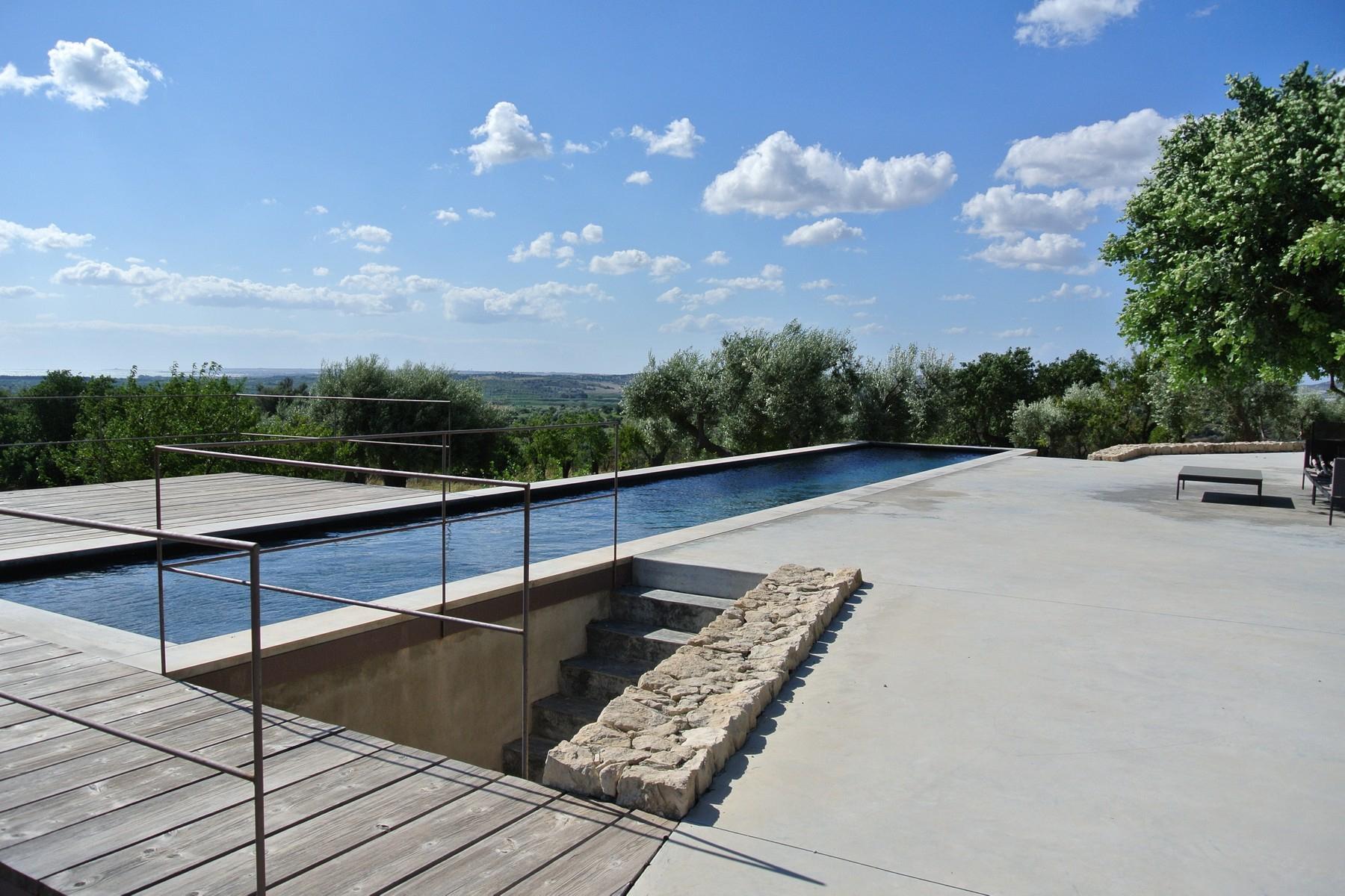 Elégante villa à Noto surplombant la réserve naturelle de Vendicari - 1