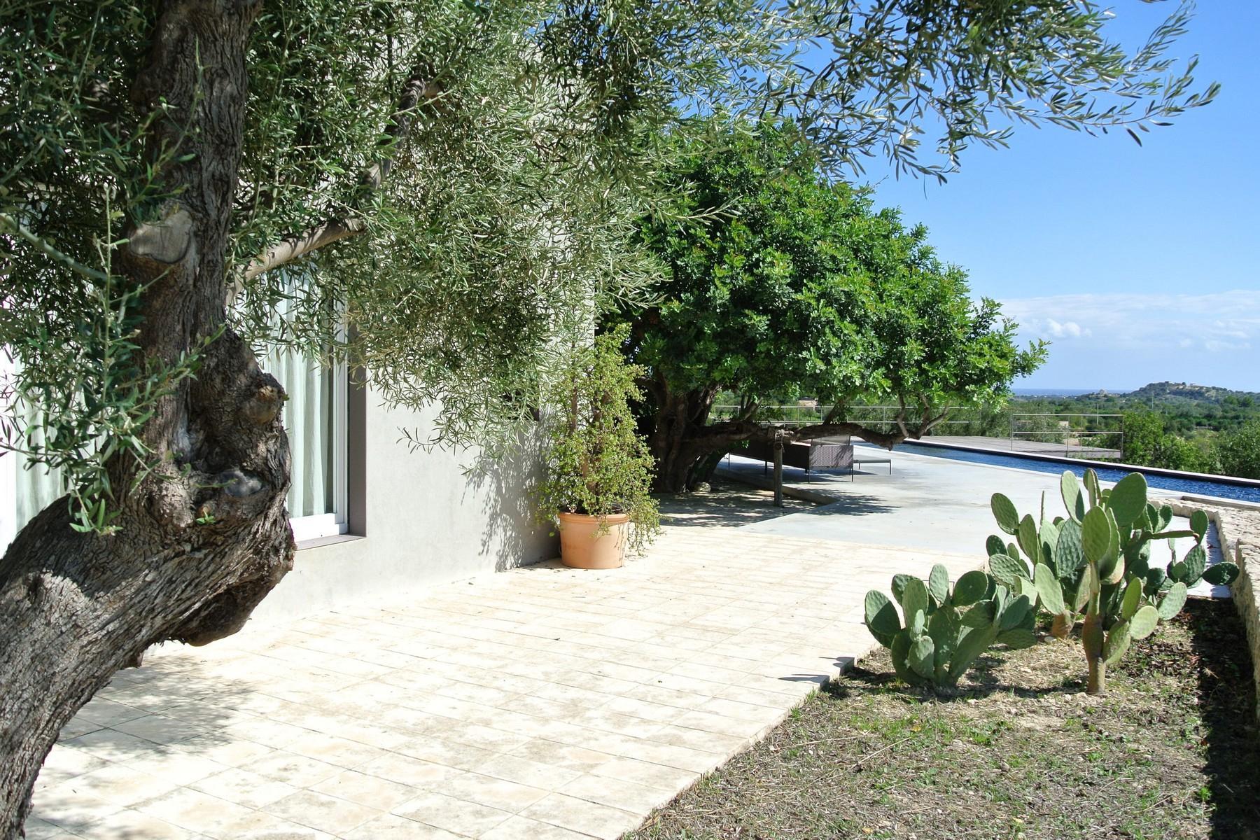 Elegante Design-Villa mit Blick auf das Vendicari-Reservat - 21