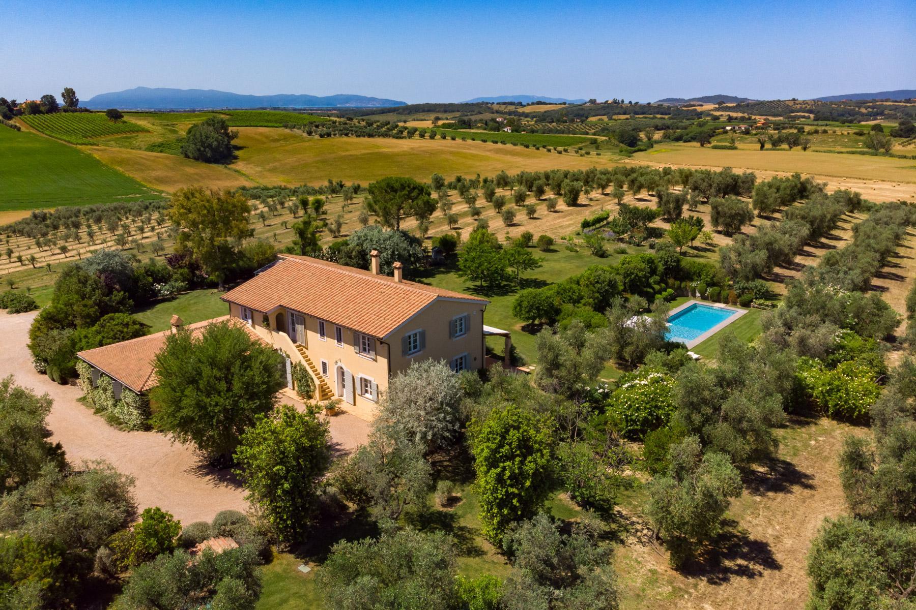 Wonderful villa with farm-house in Maremma - 27