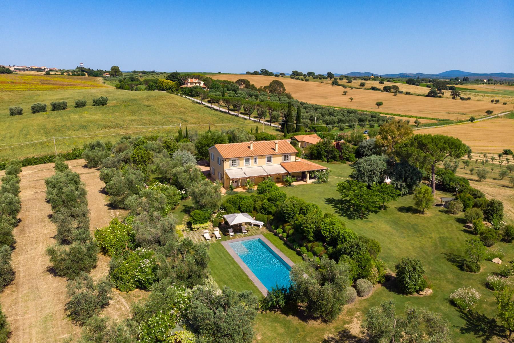 Wonderful villa with farm-house in Maremma - 13