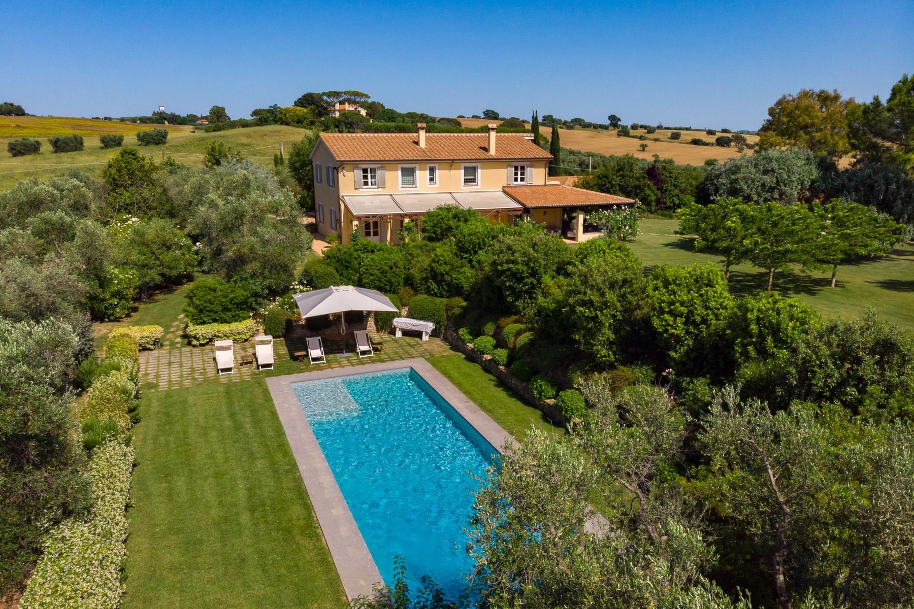 Wunderschöne Villa mit Bauernhof in Maremma - 1