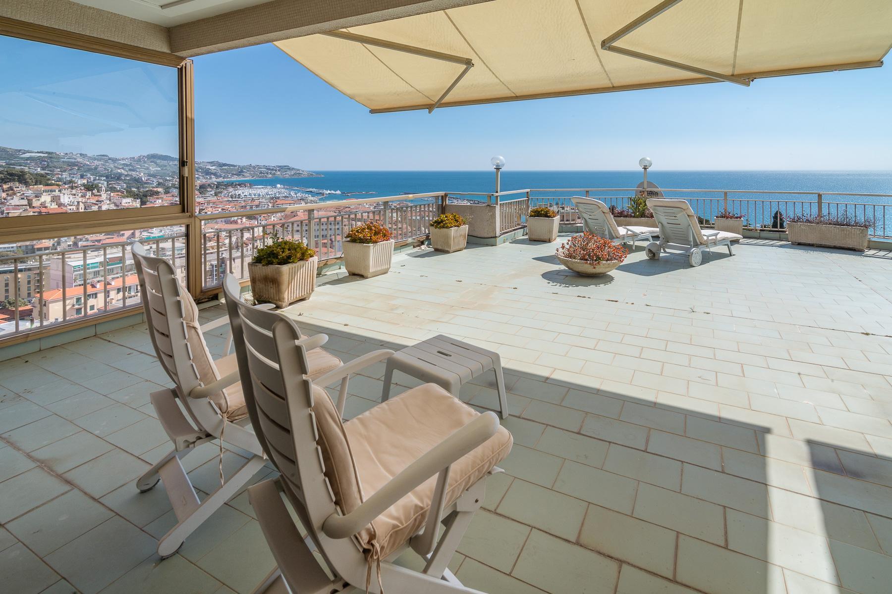 Panoramico appartamento con terrazzo al piano di circa 80 mq - 7