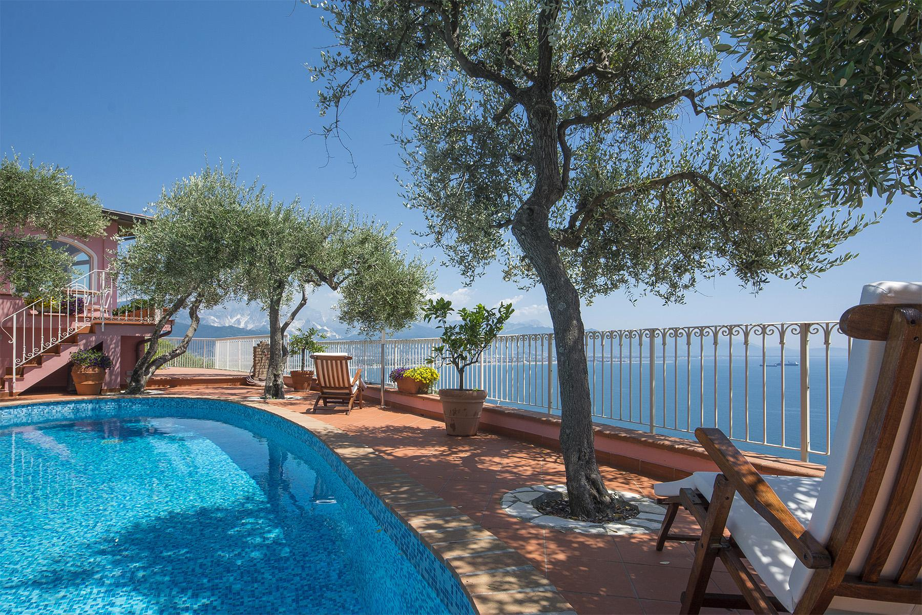 Charming luxury villa with swimming pool overlooking the Ligurian sea - 4