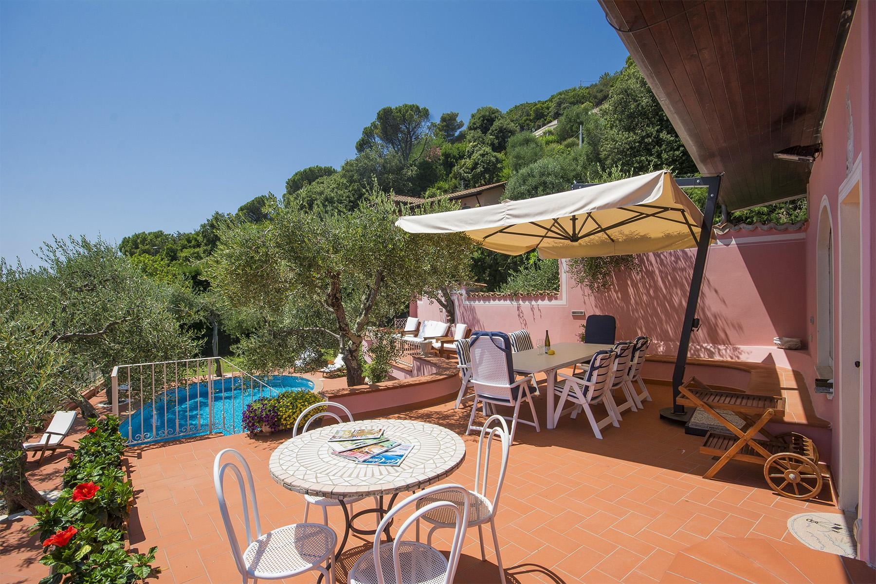 Charming luxury villa with swimming pool overlooking the Ligurian sea - 14