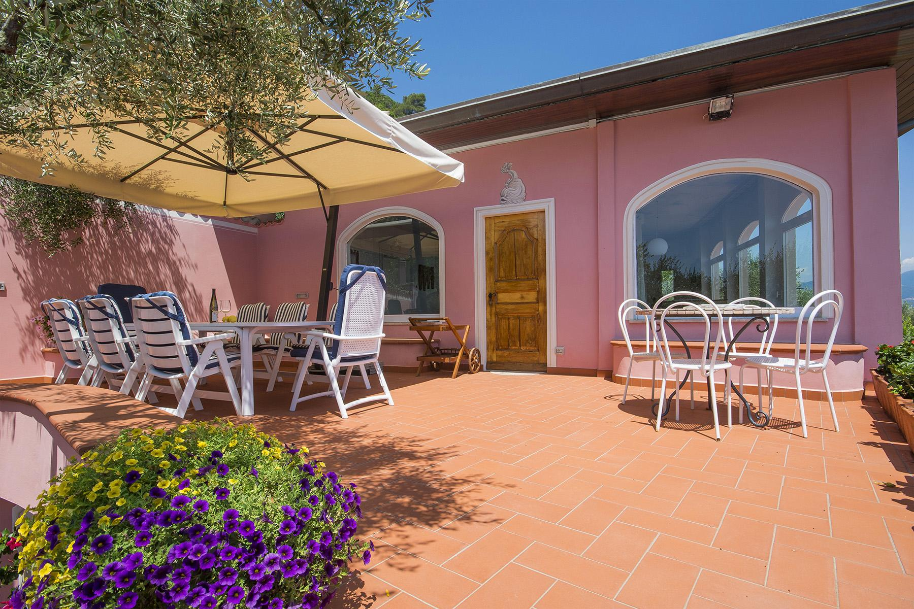 Charming luxury villa with swimming pool overlooking the Ligurian sea - 10