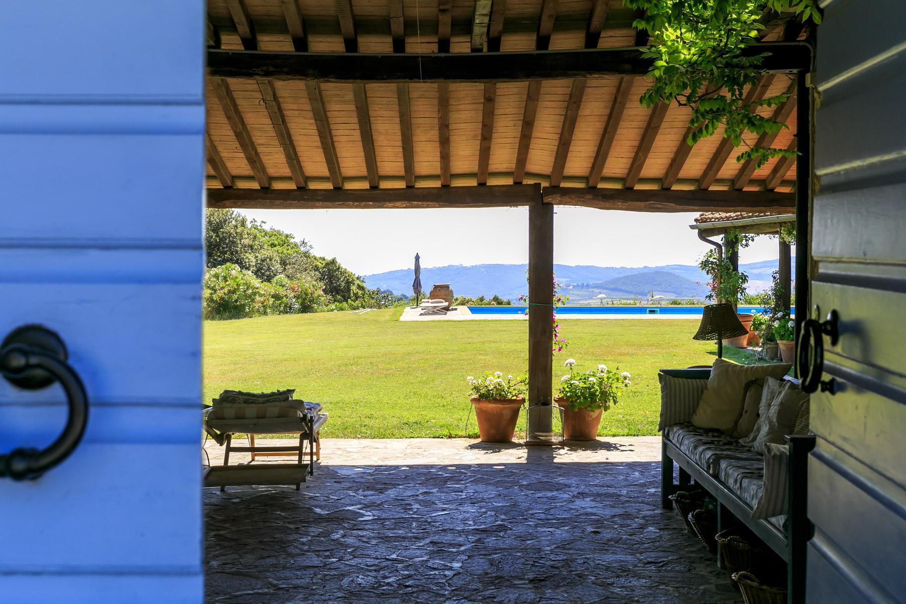 Wunderschöne toskanische Villa mit Pool - 20