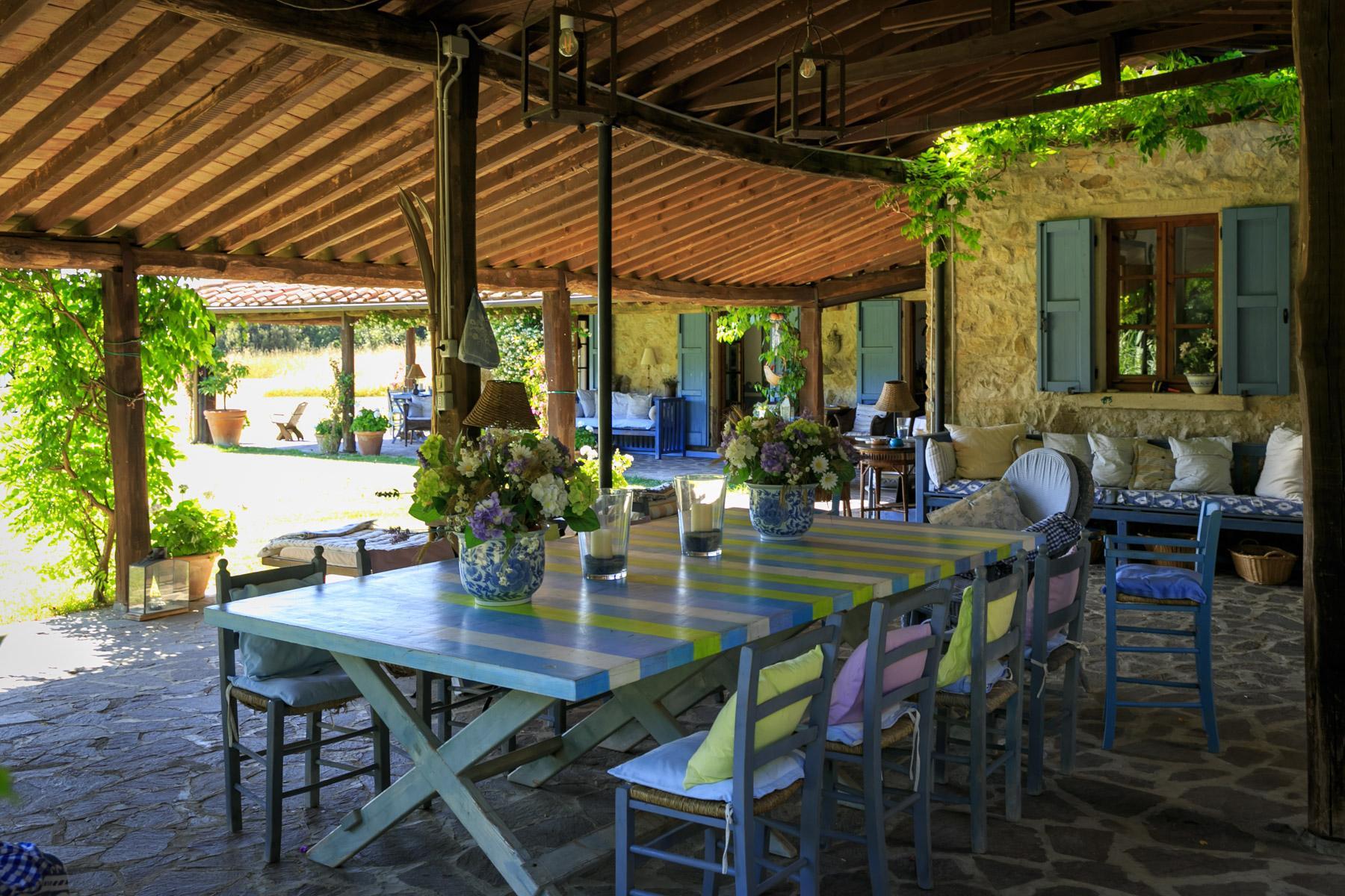 Wunderschöne toskanische Villa mit Pool - 7
