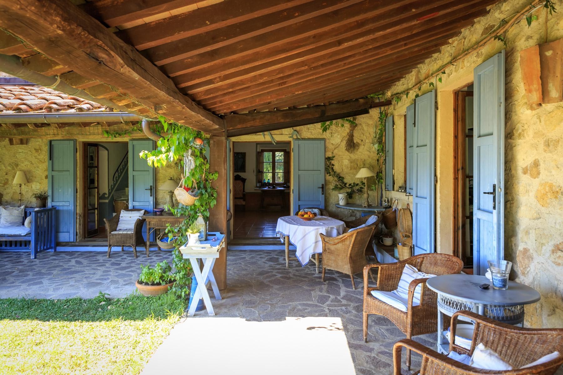 Wunderschöne toskanische Villa mit Pool - 9