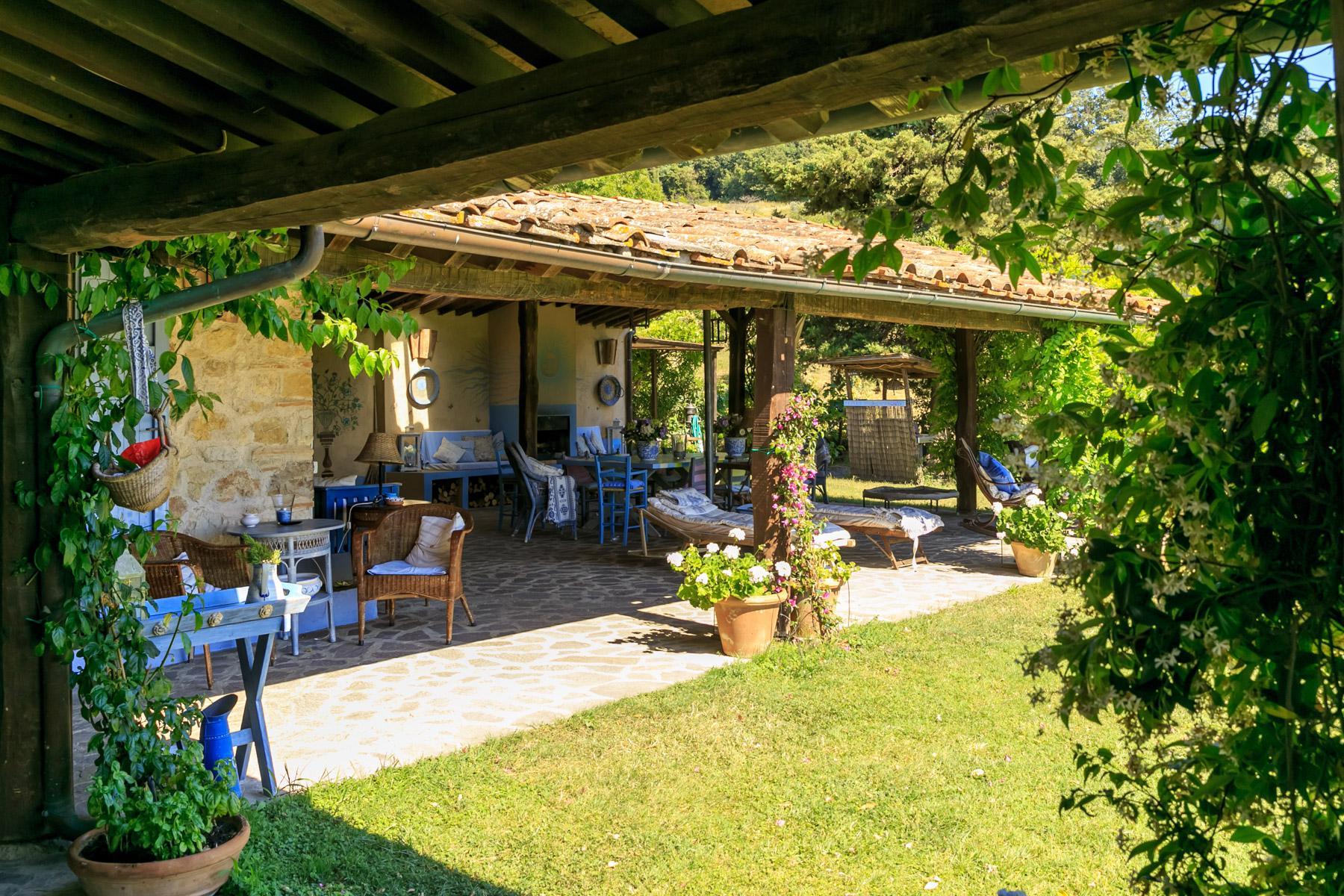Wunderschöne toskanische Villa mit Pool - 10